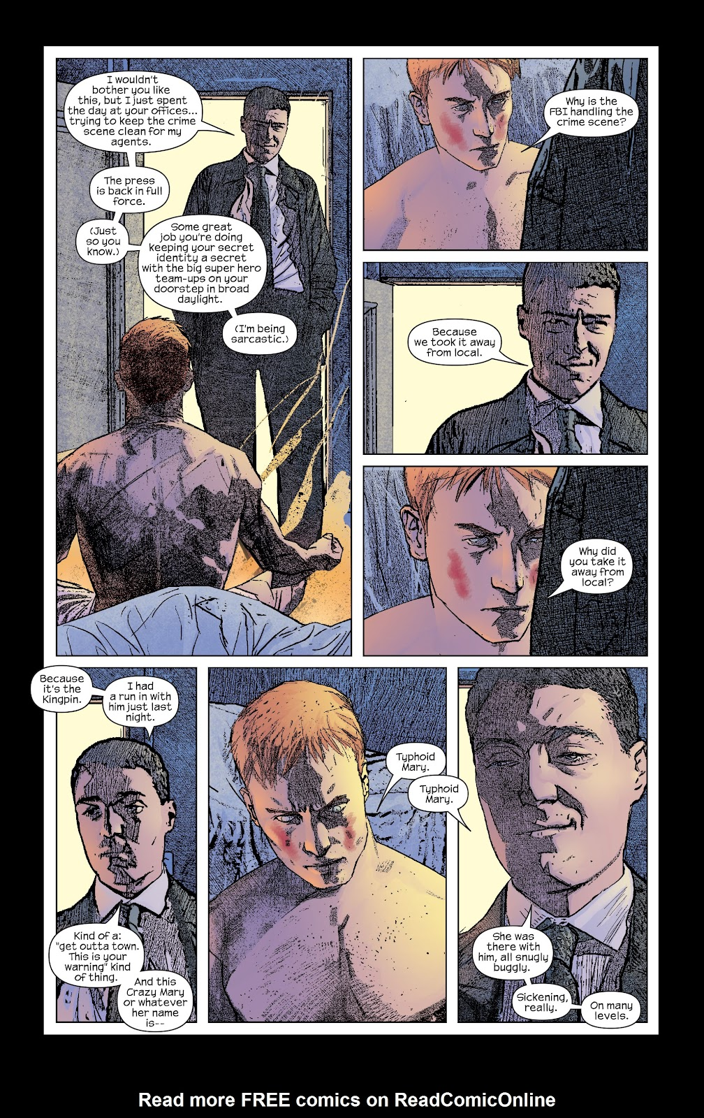 Read online Daredevil (1998) comic -  Issue # _Ultimate_Collection TPB 2 (Part 2) - 73