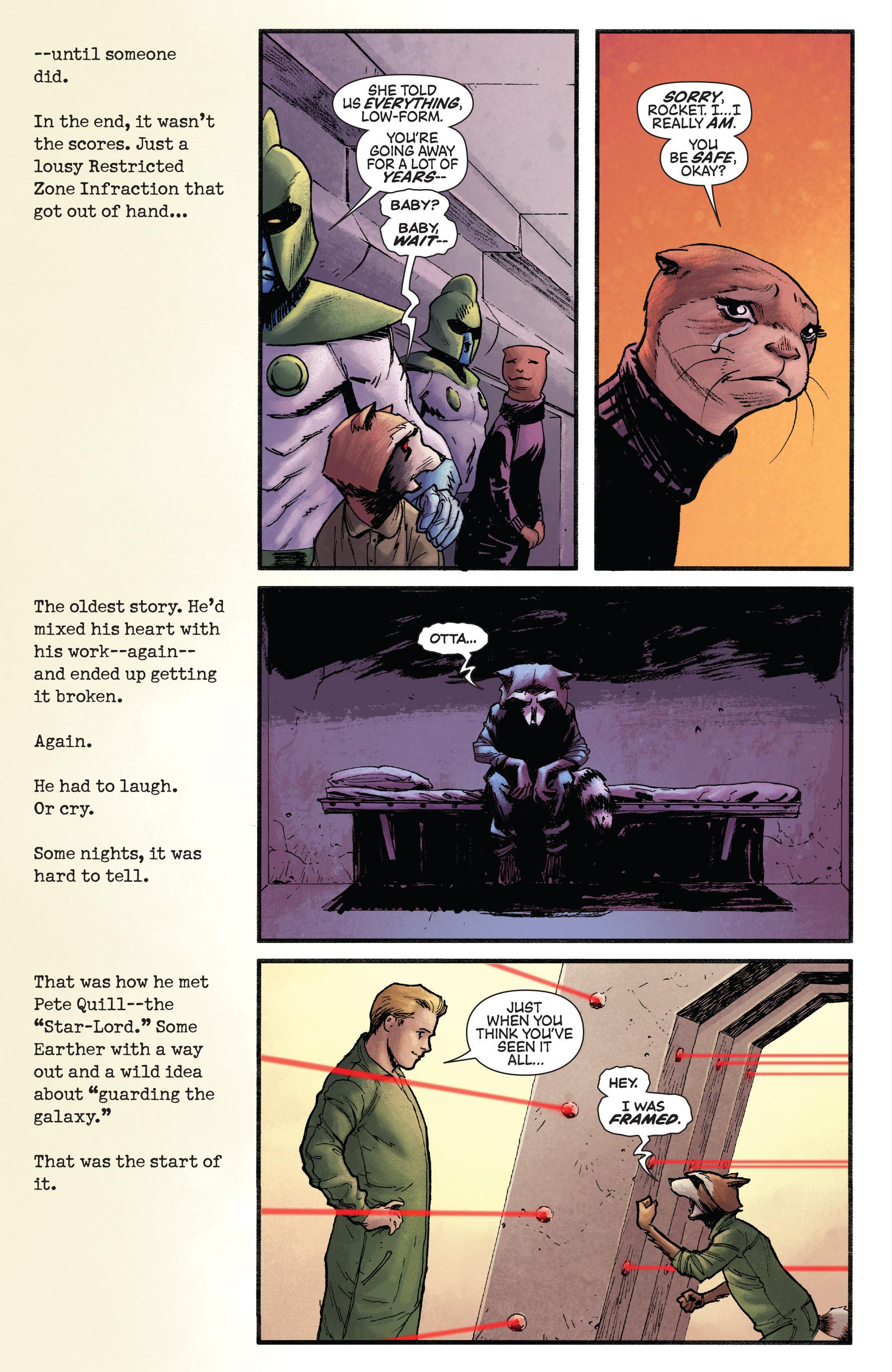 Read online Rocket comic -  Issue #1 - 8