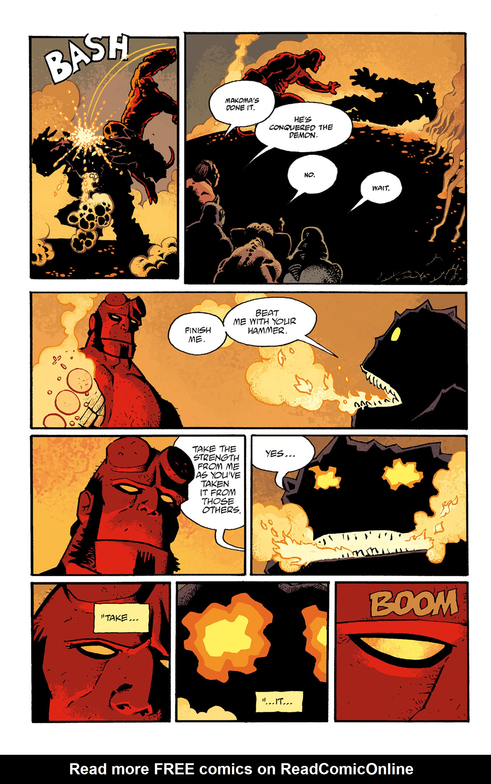 Read online Hellboy: The Troll Witch and Others comic -  Issue # TPB - 104