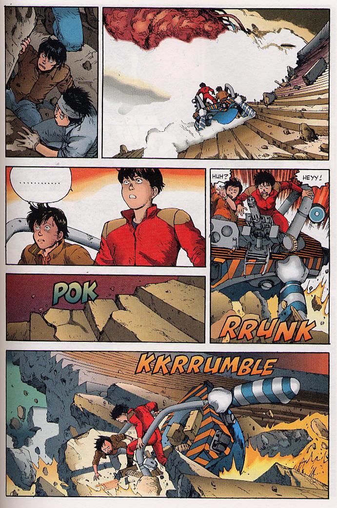 Read online Akira comic -  Issue #31 - 38