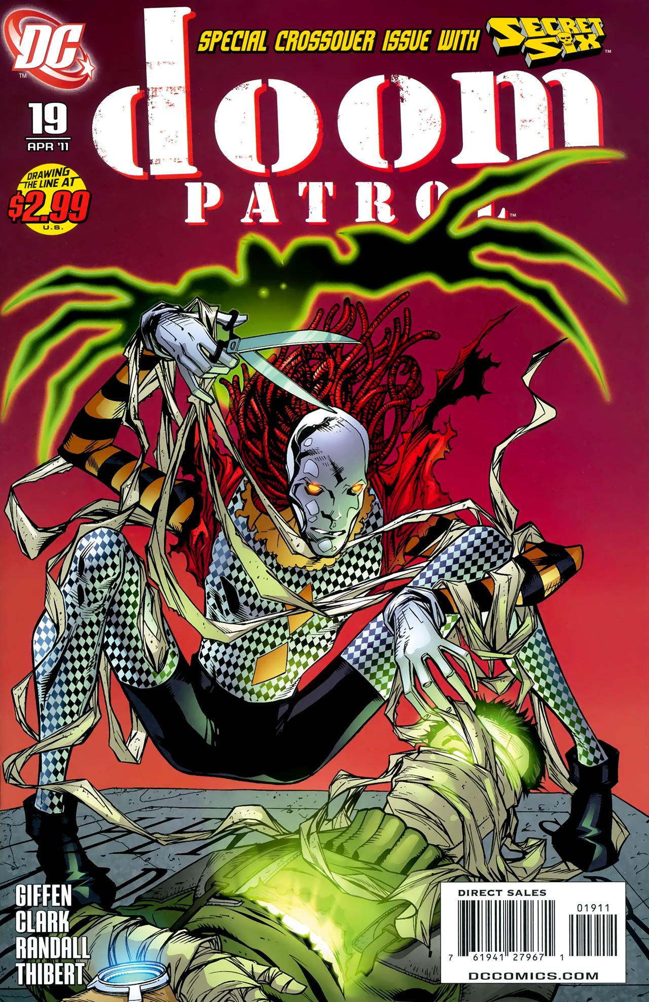 Doom Patrol (2009) 19 Page 1