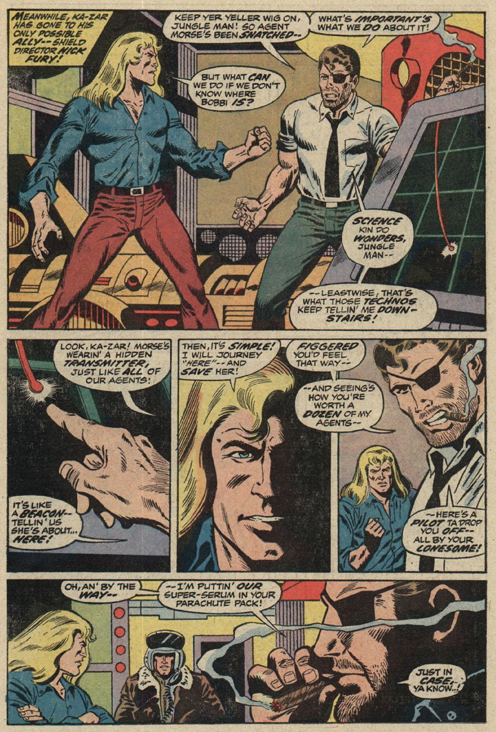 Read online Astonishing Tales (1970) comic -  Issue #19 - 10