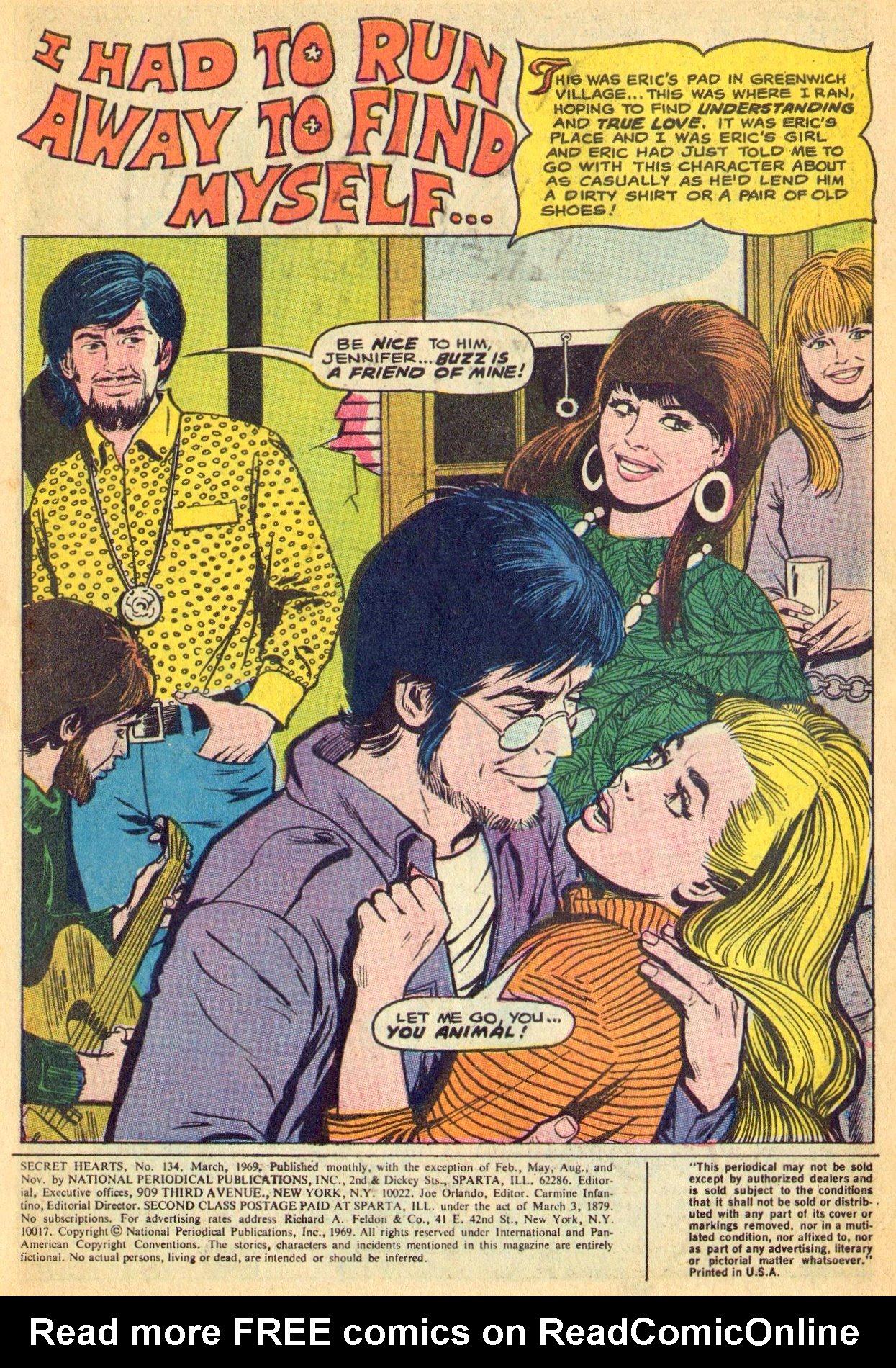 Read online Secret Hearts comic -  Issue #134 - 3