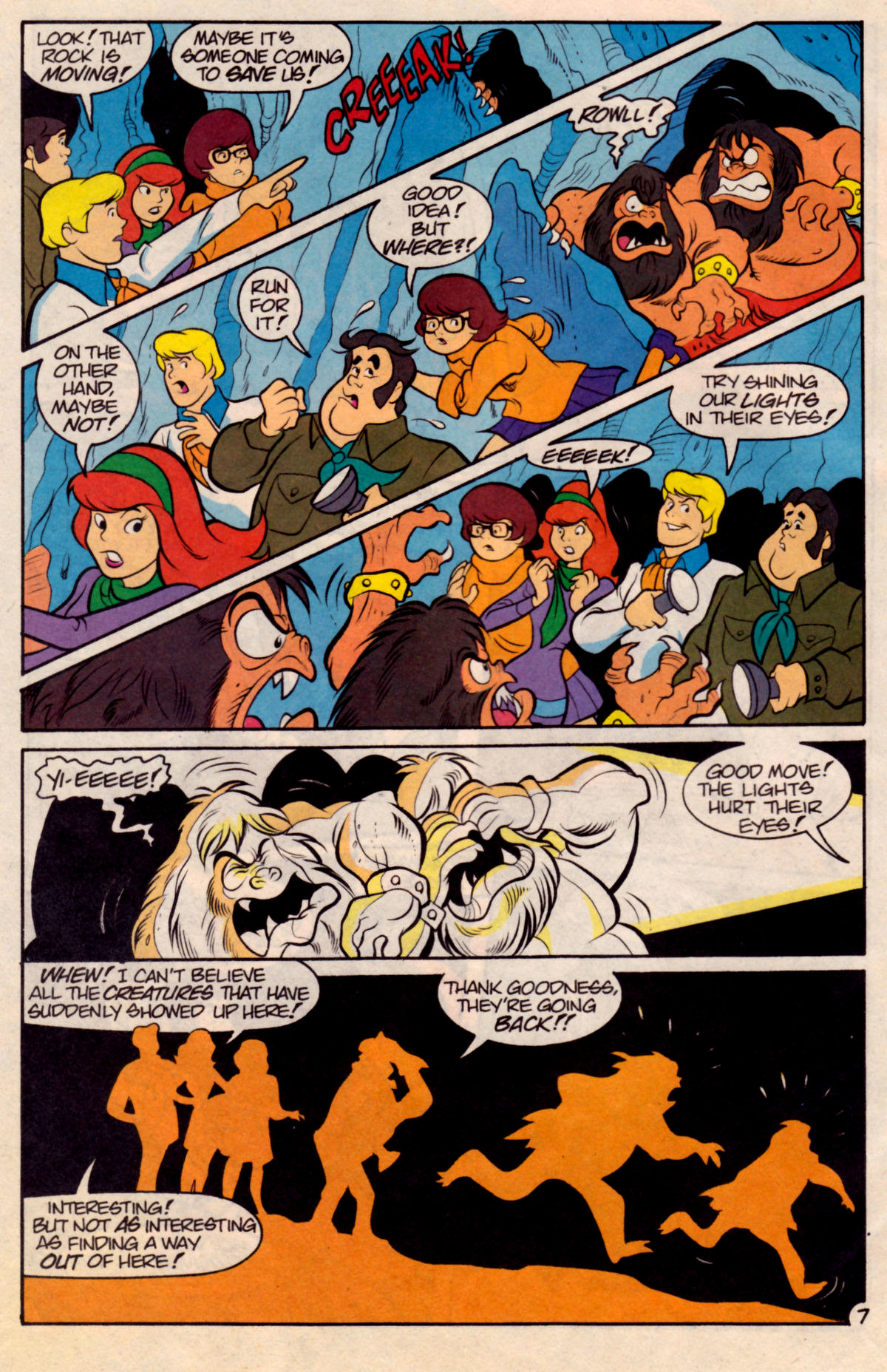 Read online Scooby-Doo (1995) comic -  Issue #18 - 24