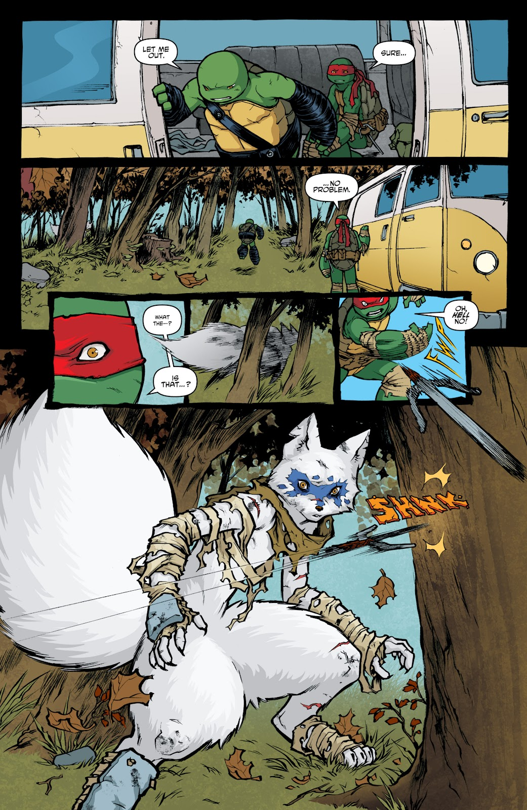 Read online Teenage Mutant Ninja Turtles: The IDW Collection comic -  Issue # TPB 4 (Part 1) - 14