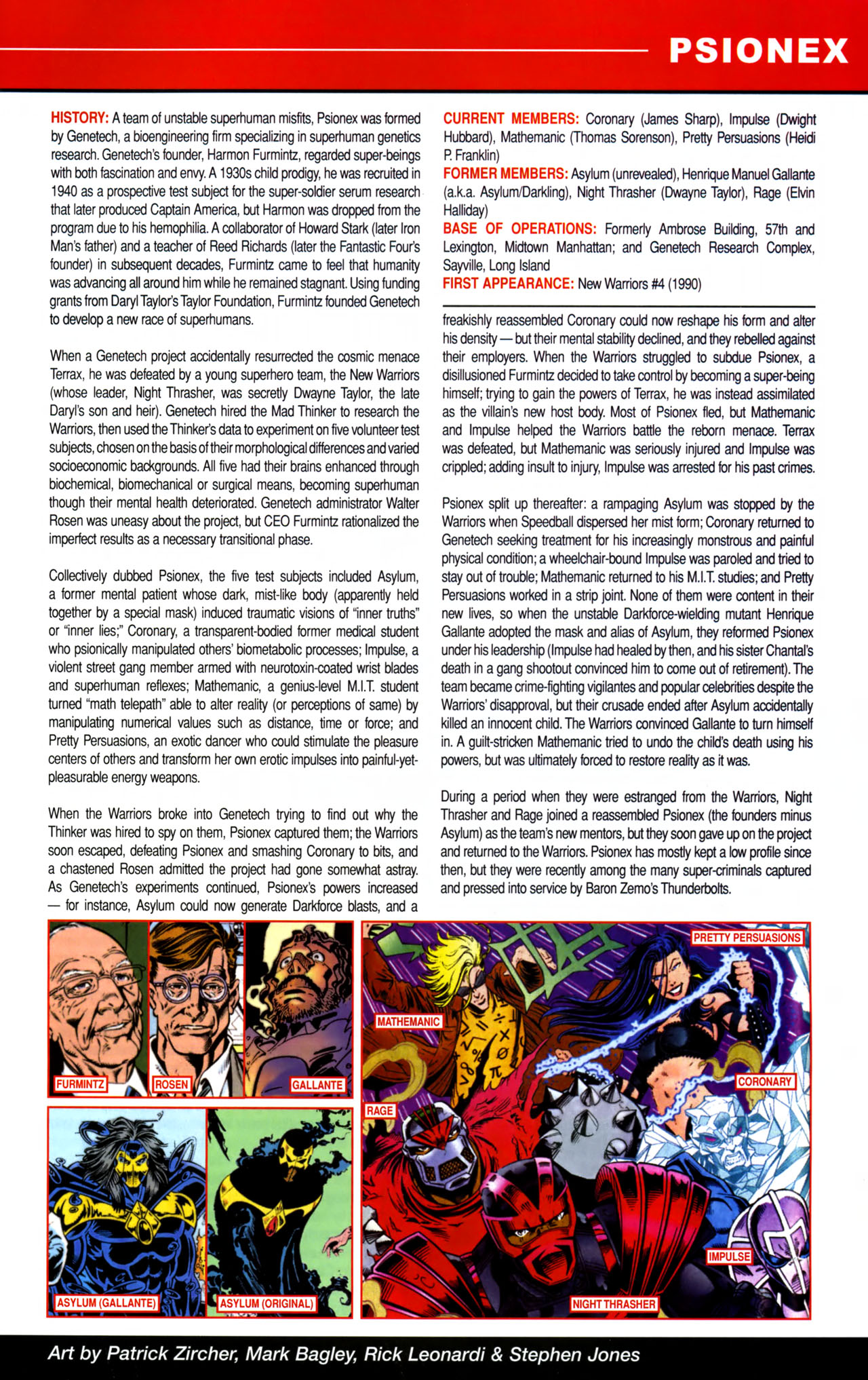 Read online All-New Official Handbook of the Marvel Universe A to Z comic -  Issue #8 - 63