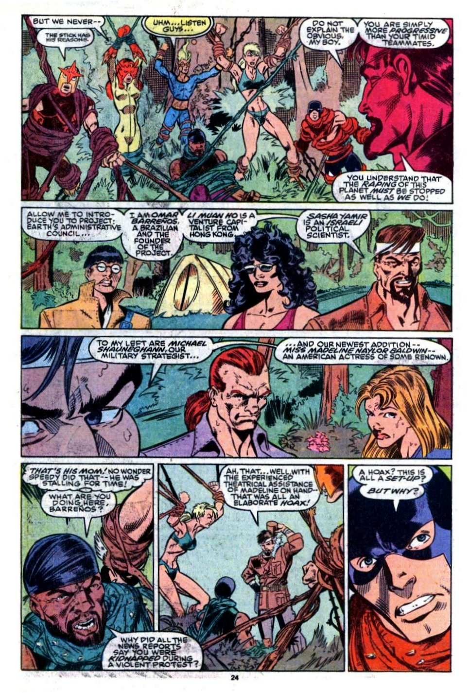 The New Warriors Issue #8 #12 - English 20