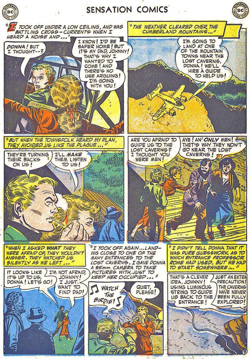 Read online Sensation (Mystery) Comics comic -  Issue #108 - 15