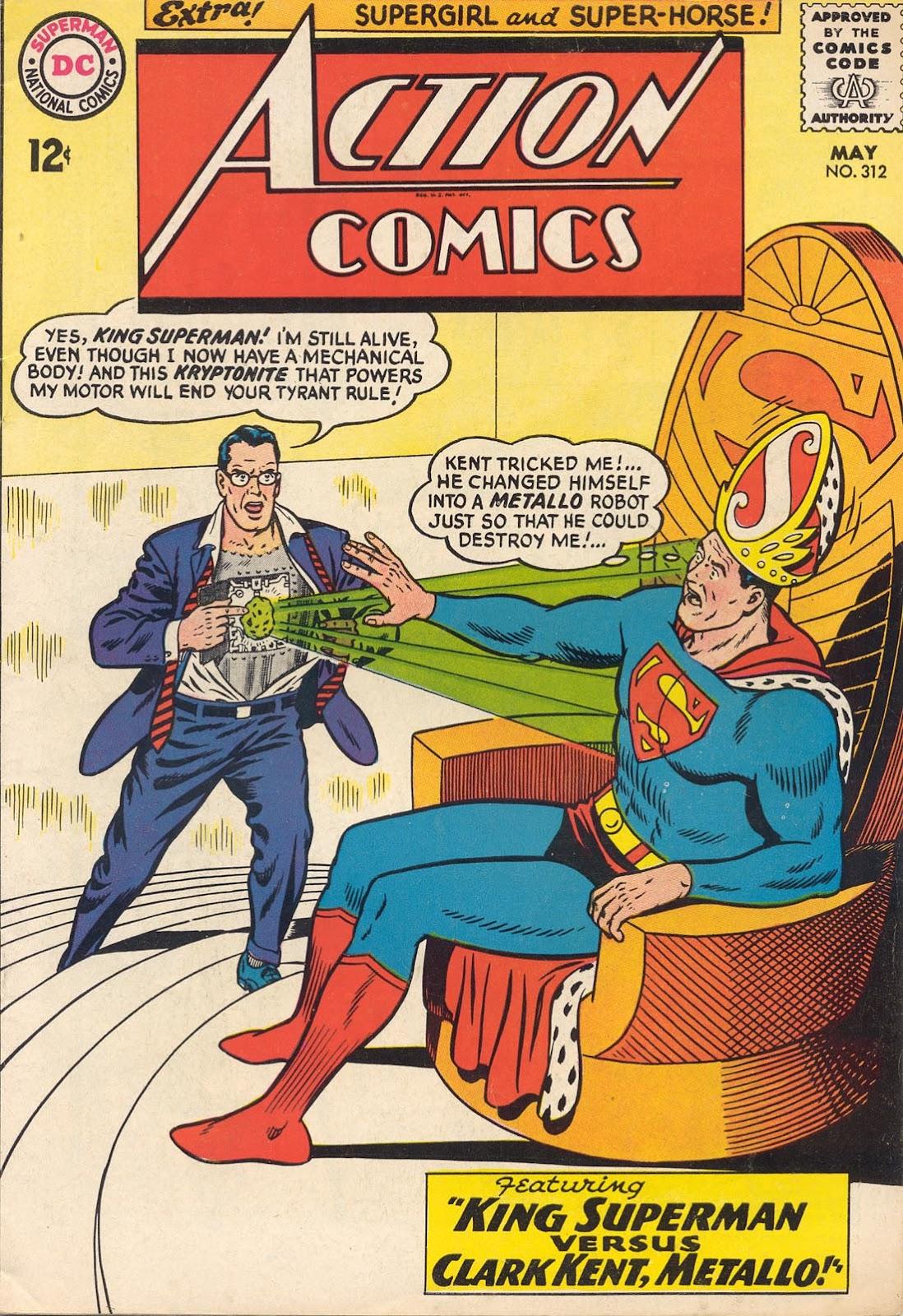 Action Comics (1938) 312 Page 1