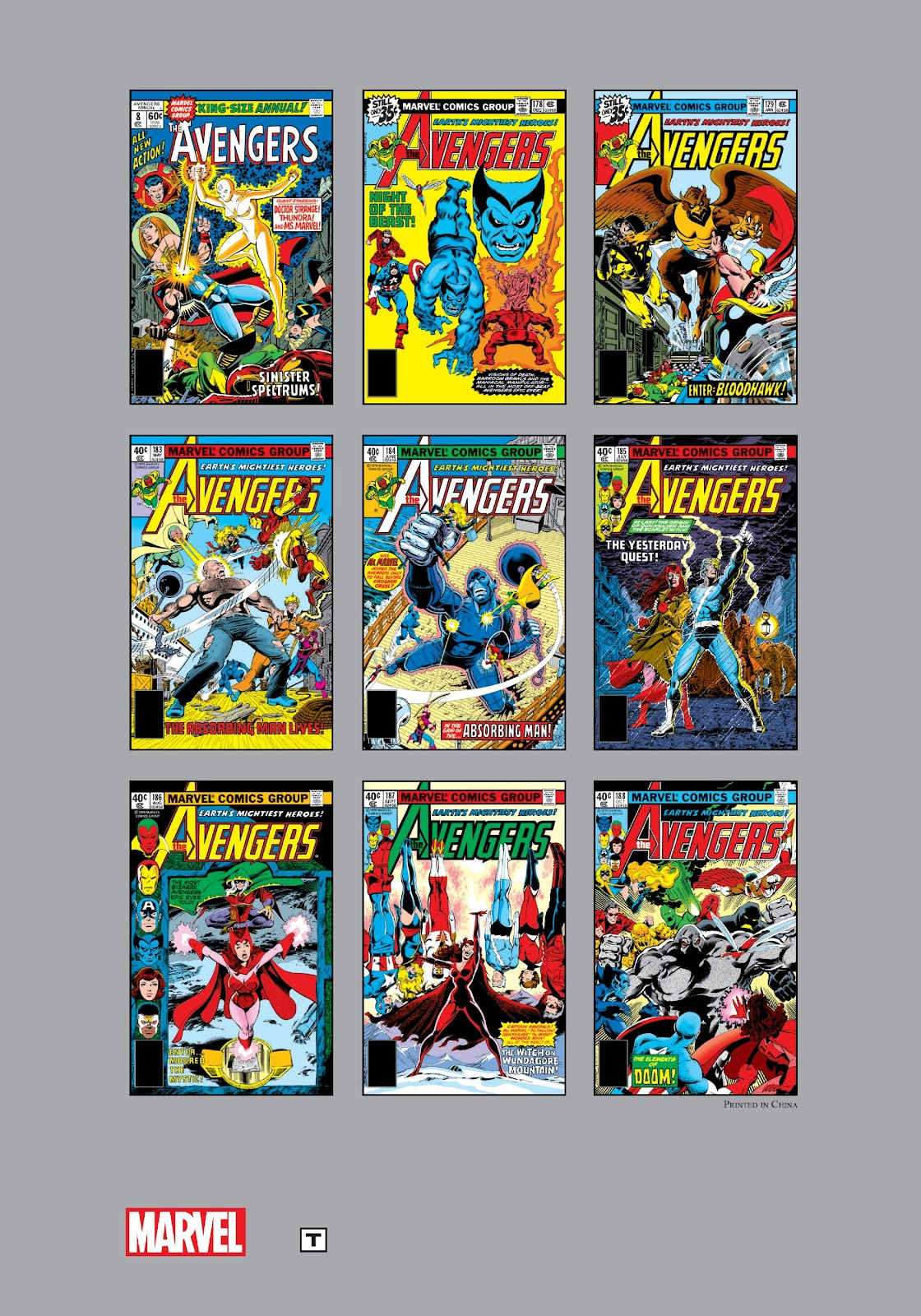 Marvel Masterworks: The Avengers Issue # TPB-18-Part-3 - ReadComic.Org