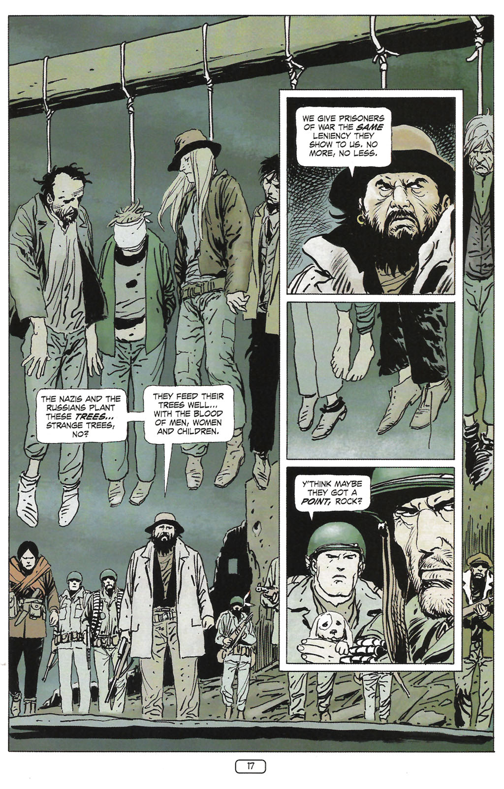 Read online Sgt. Rock: The Prophecy comic -  Issue #1 - 19