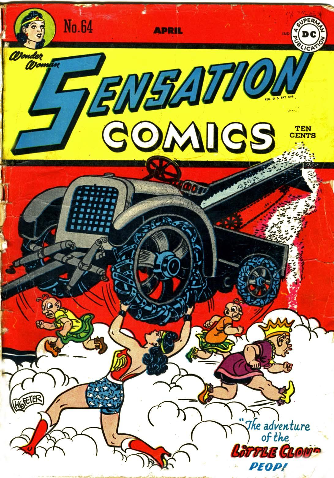 Read online Sensation (Mystery) Comics comic -  Issue #64 - 1