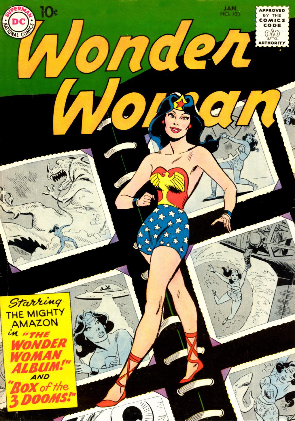 Read online Wonder Woman (1942) comic -  Issue #103 - 1