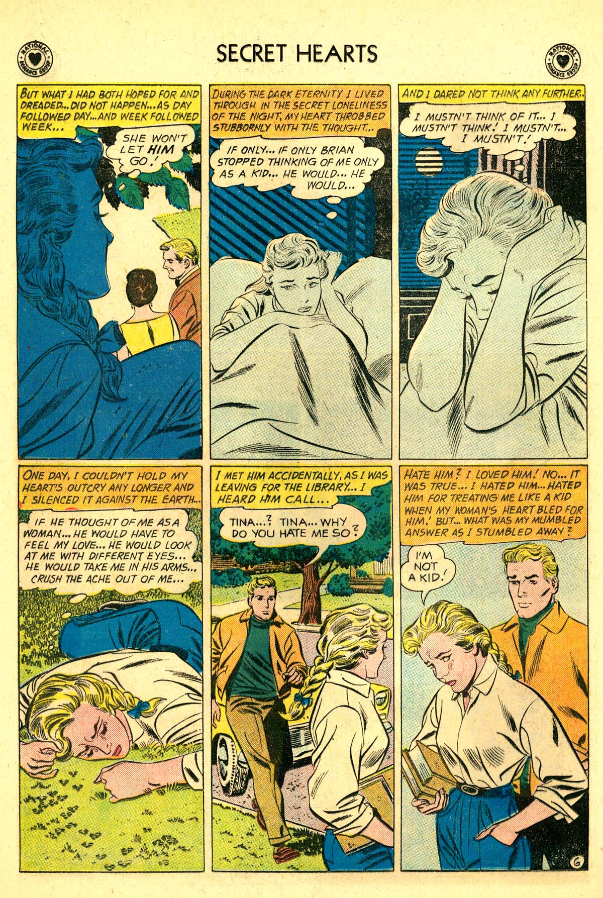 Read online Secret Hearts comic -  Issue #64 - 32