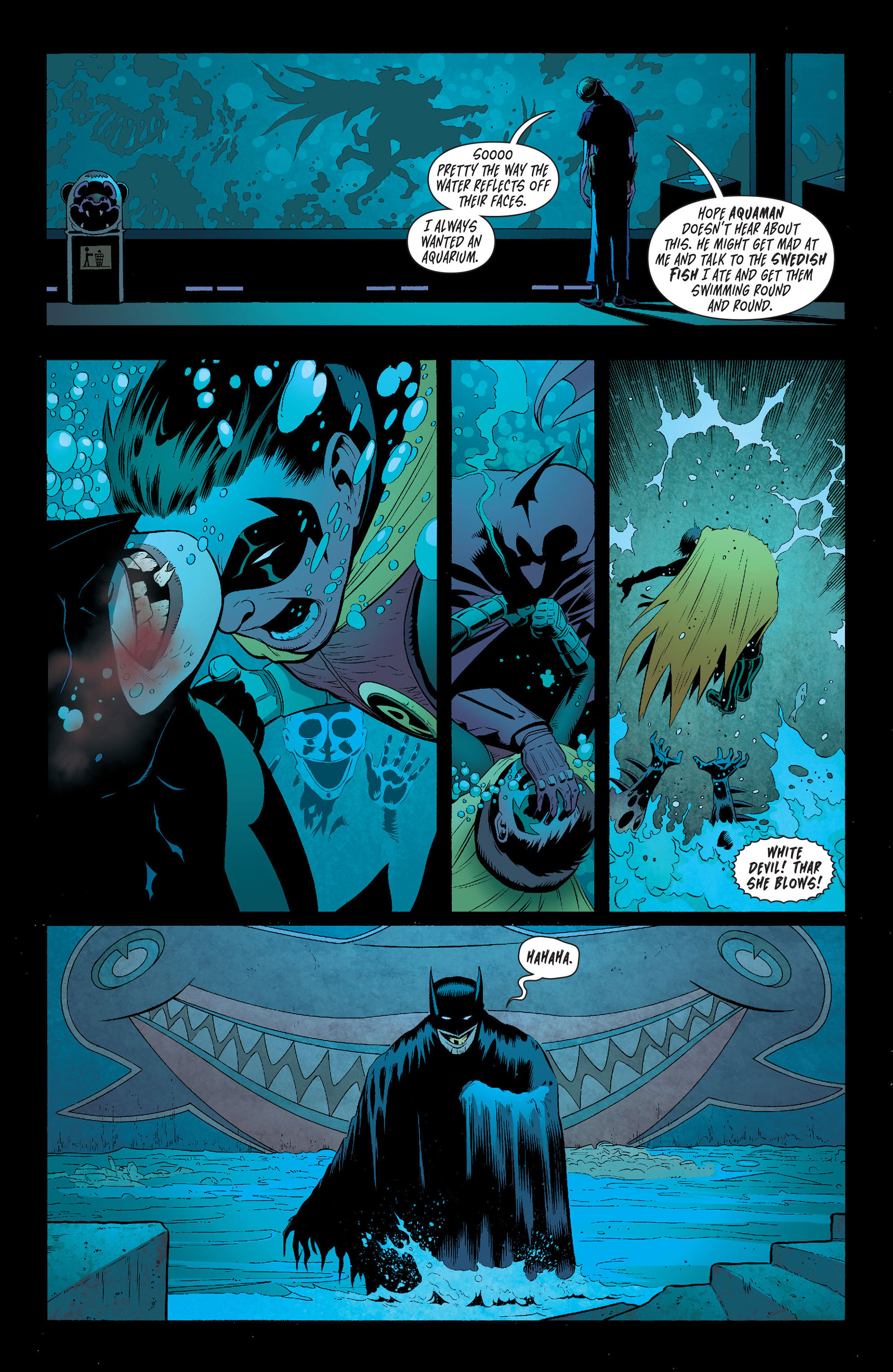 Read online Batman and Robin (2011) comic -  Issue #16 - 12