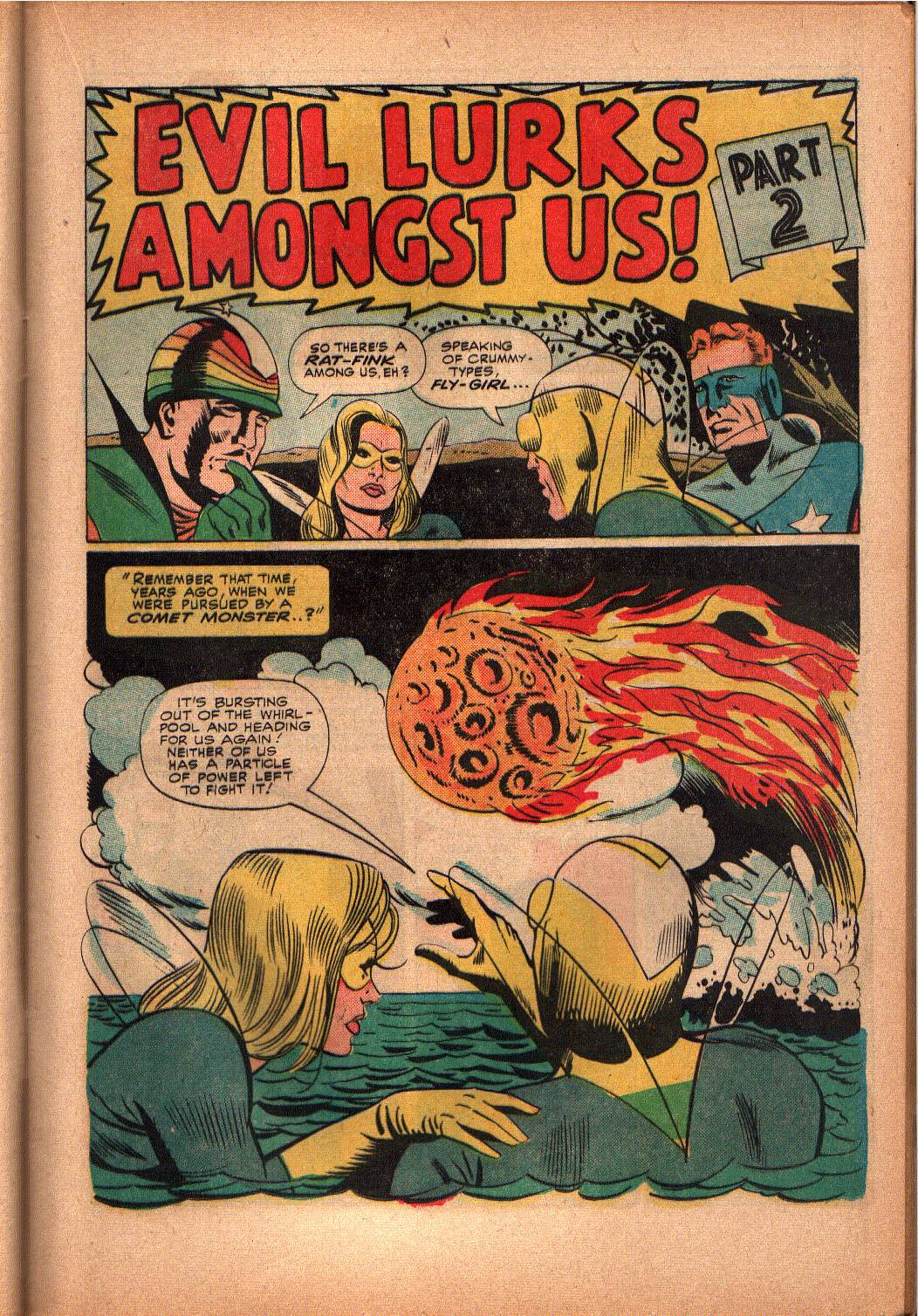 The Mighty Crusaders (1965) Issue #3 #3 - English 10