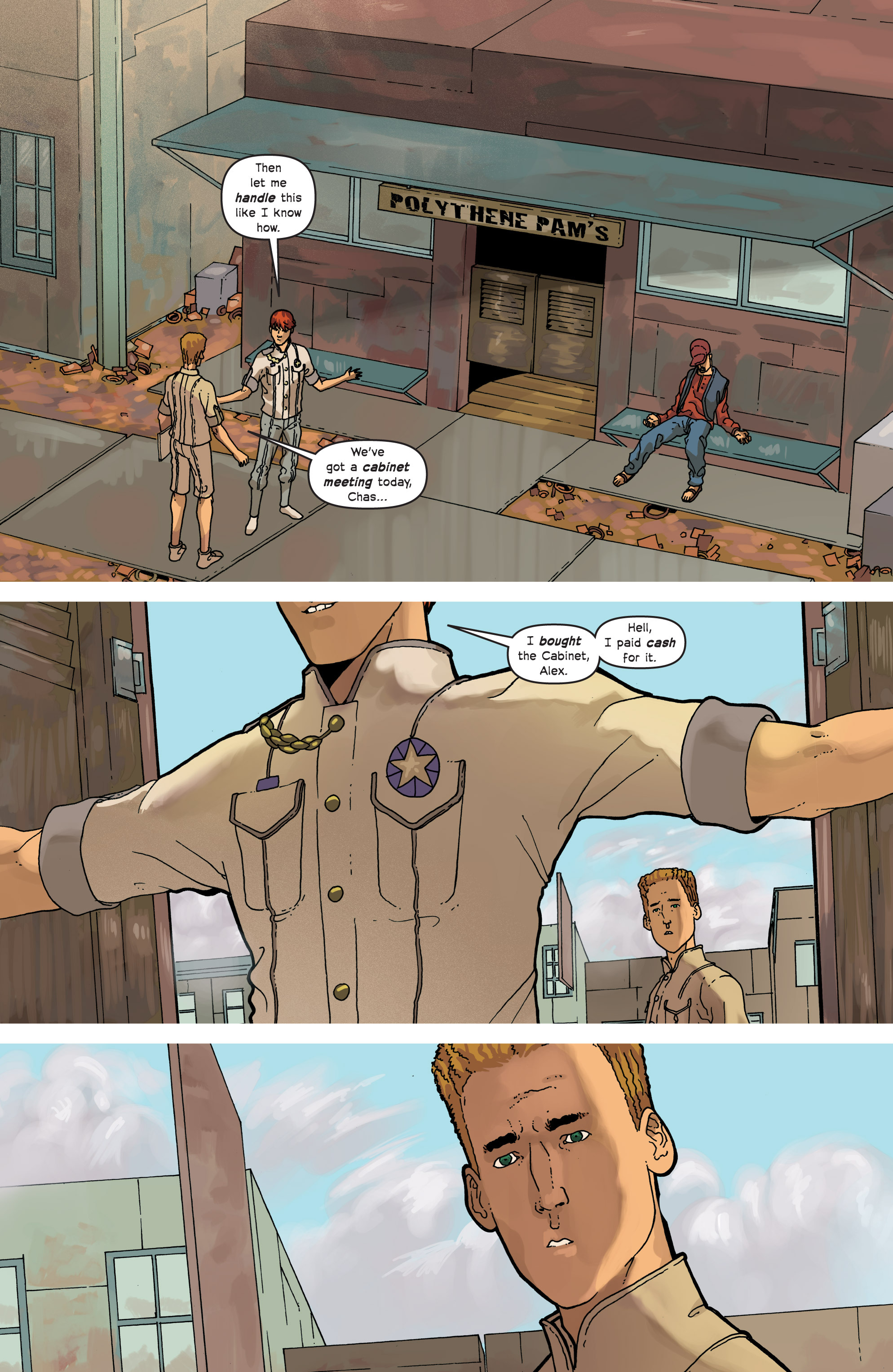 Read online Great Pacific comic -  Issue #7 - 14