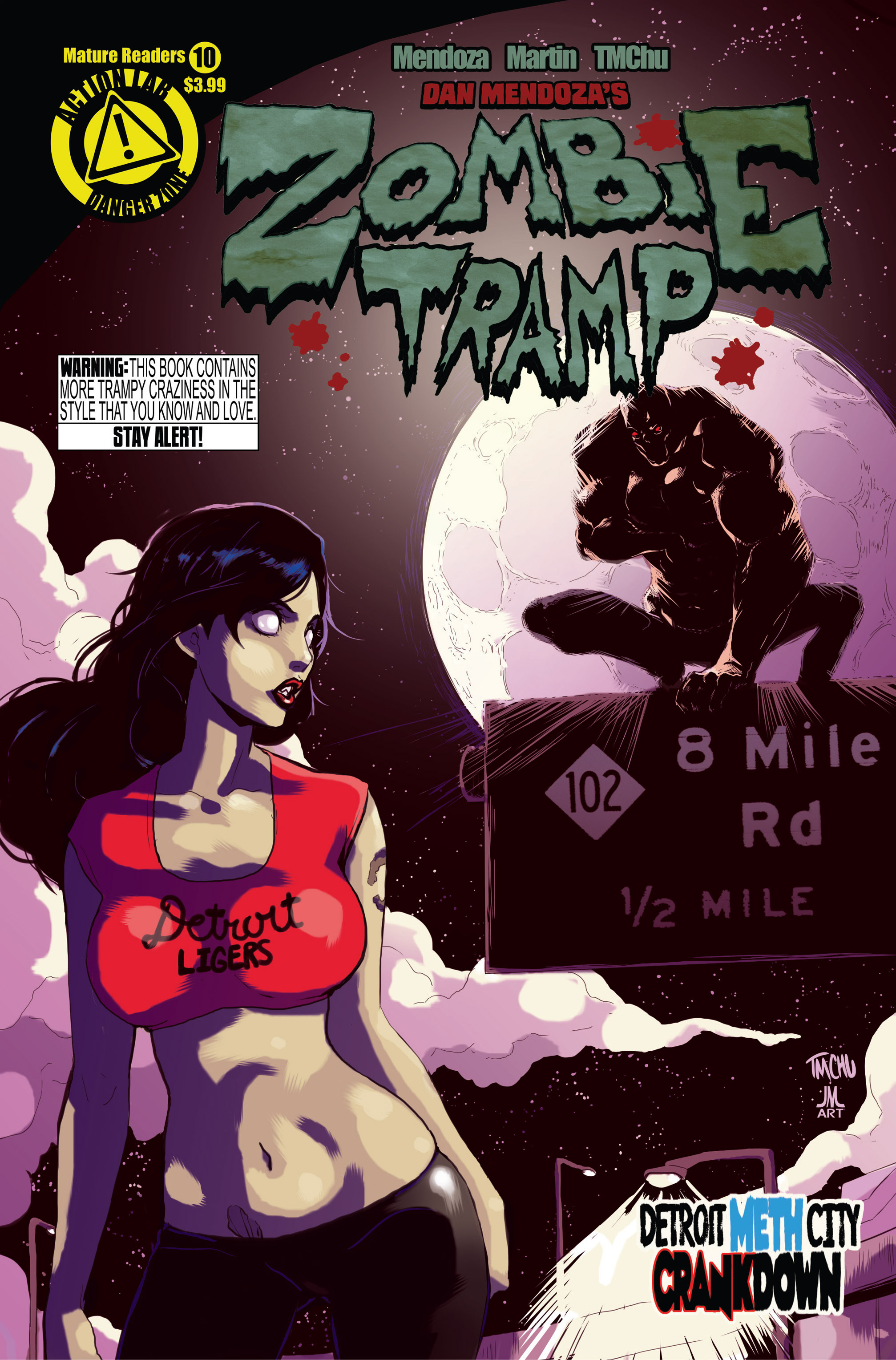 Zombie Tramp (2014) 10 Page 1
