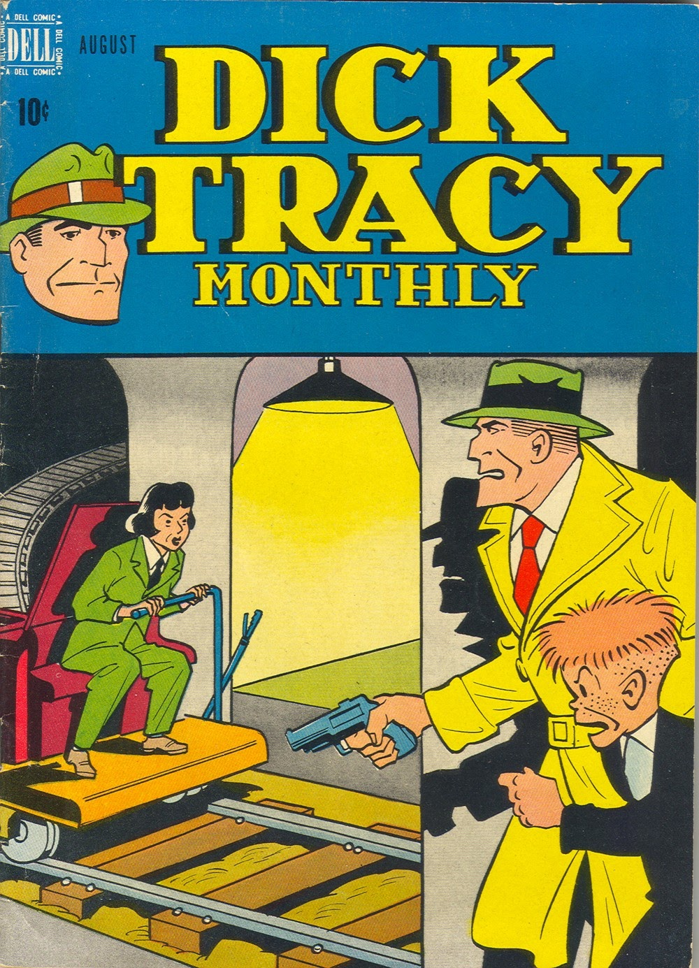 Dick Tracy Monthly 8 Page 1