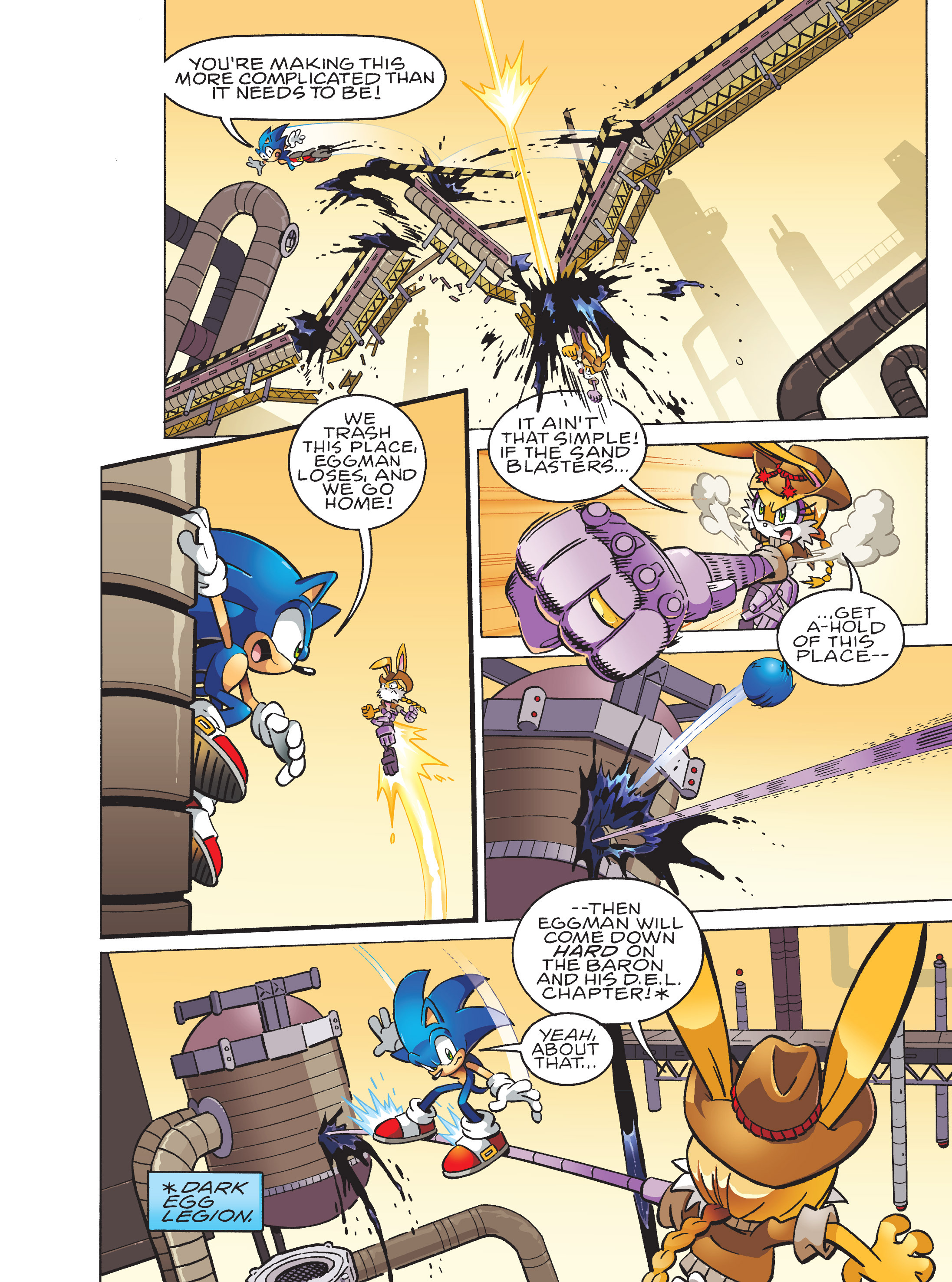 Read online Sonic Super Digest comic -  Issue #10 - 99