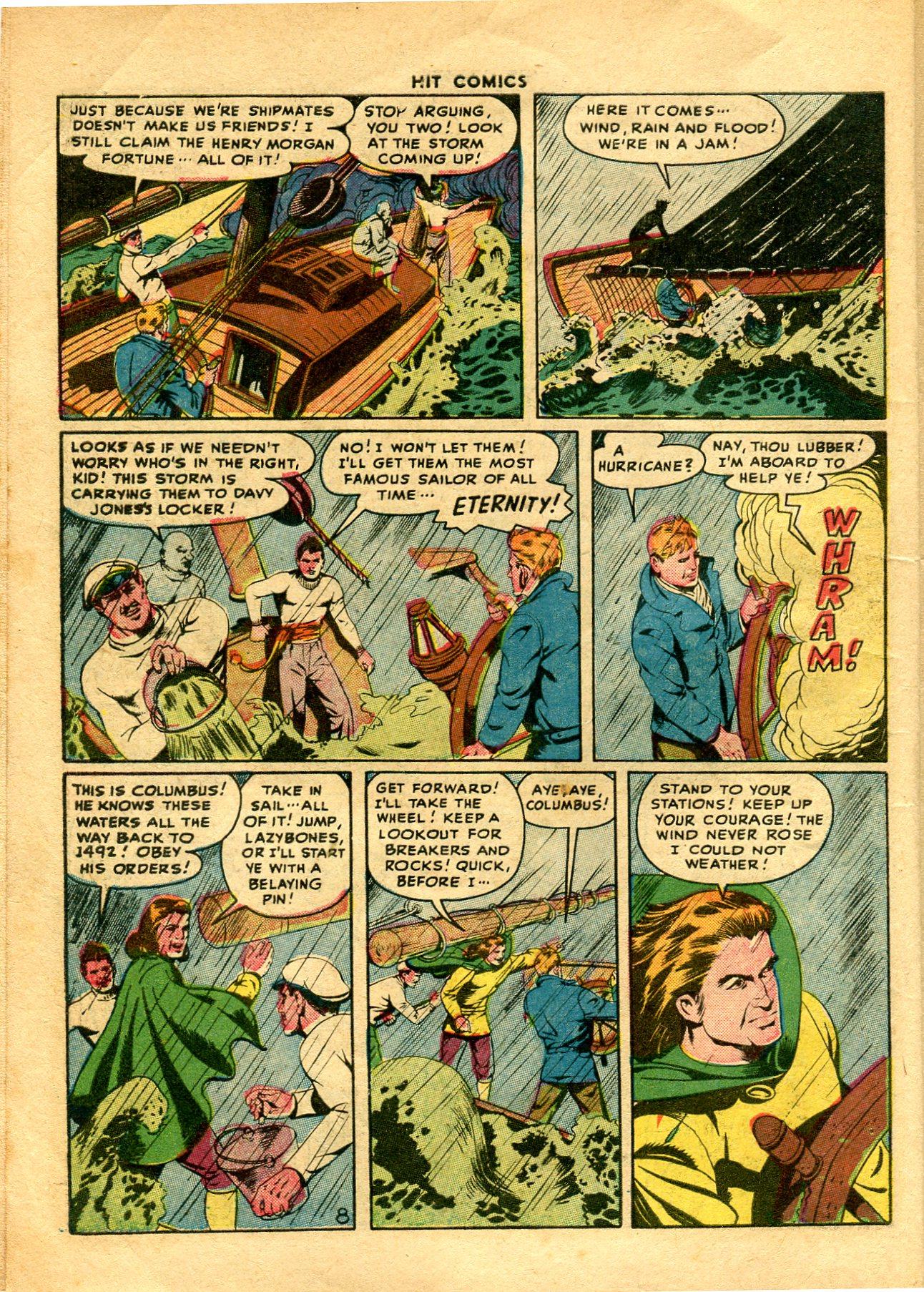 Read online Hit Comics comic -  Issue #48 - 10