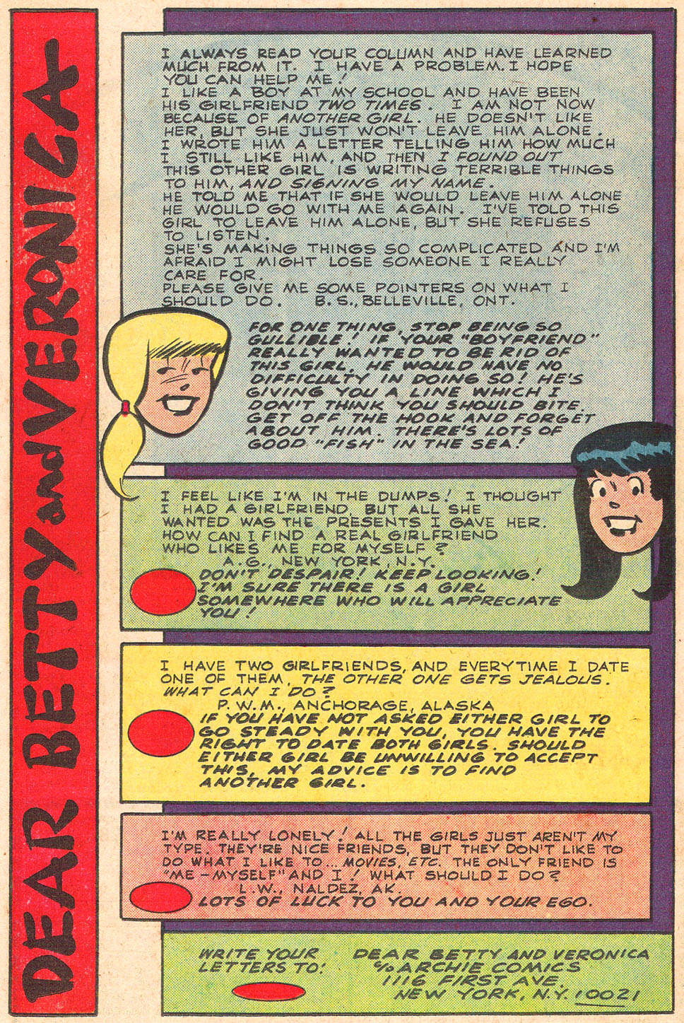 Read online Archie's Girls Betty and Veronica comic -  Issue #301 - 26