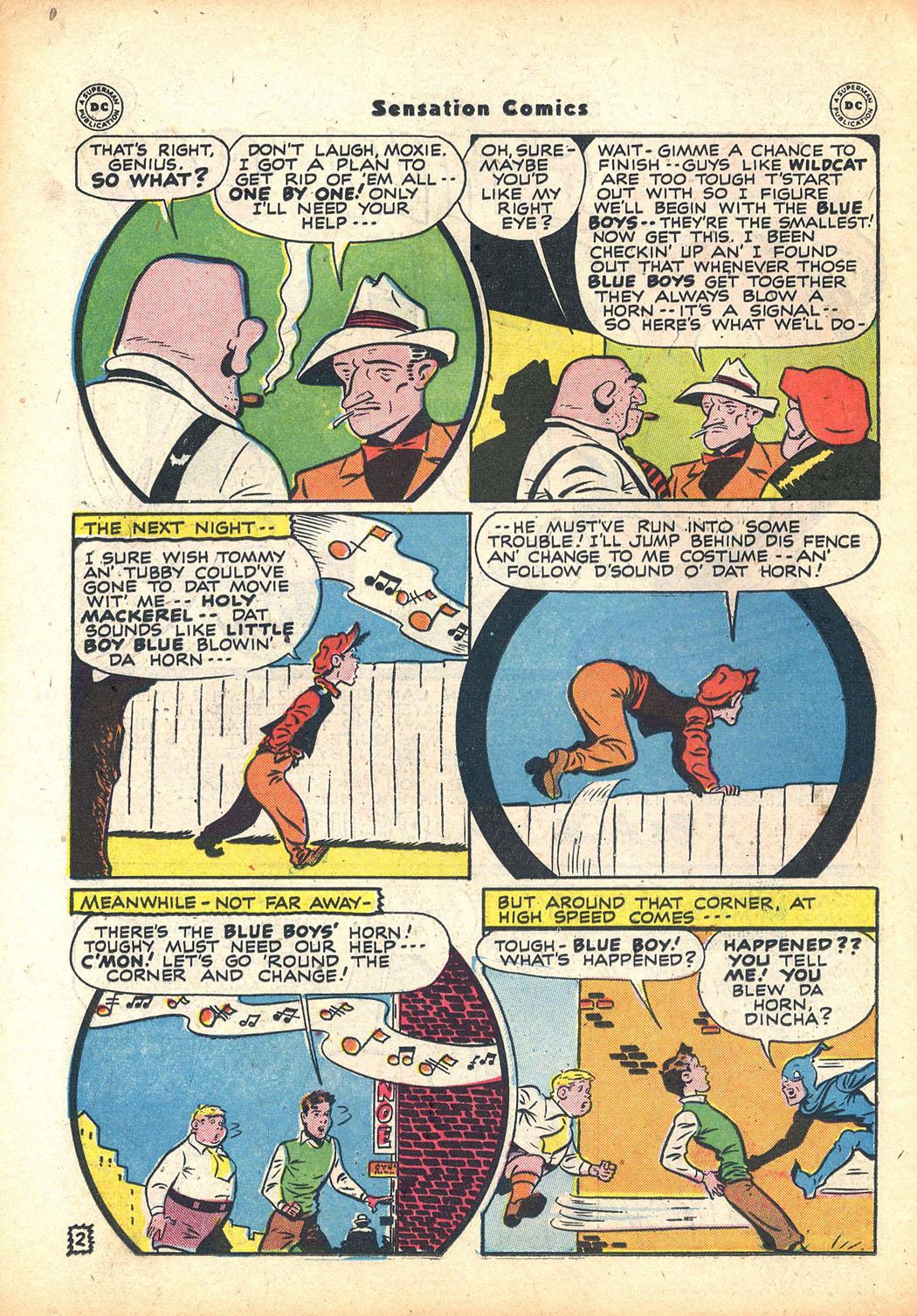 Read online Sensation (Mystery) Comics comic -  Issue #63 - 18