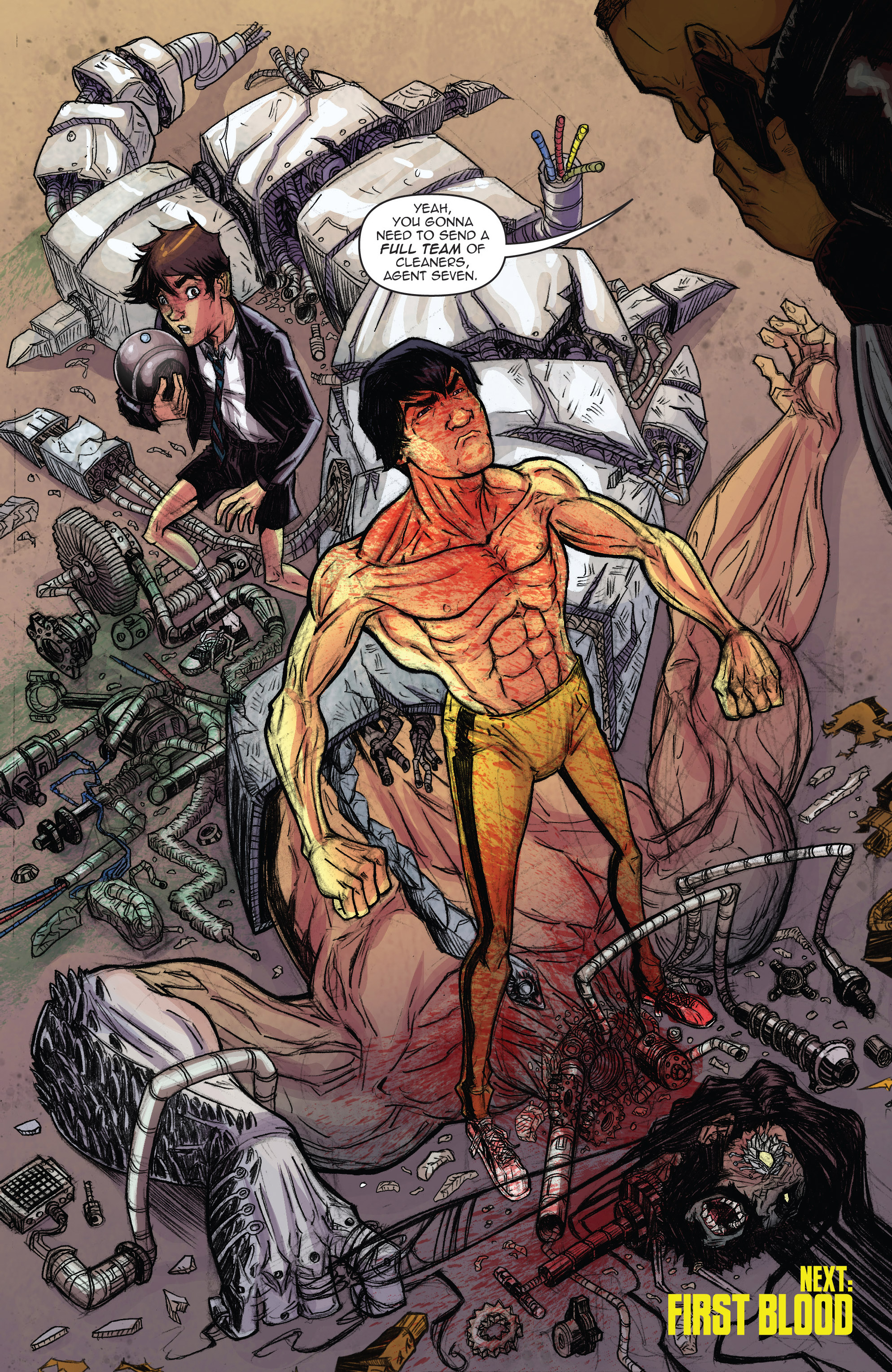 Read online Infinite Seven comic -  Issue #3 - 27