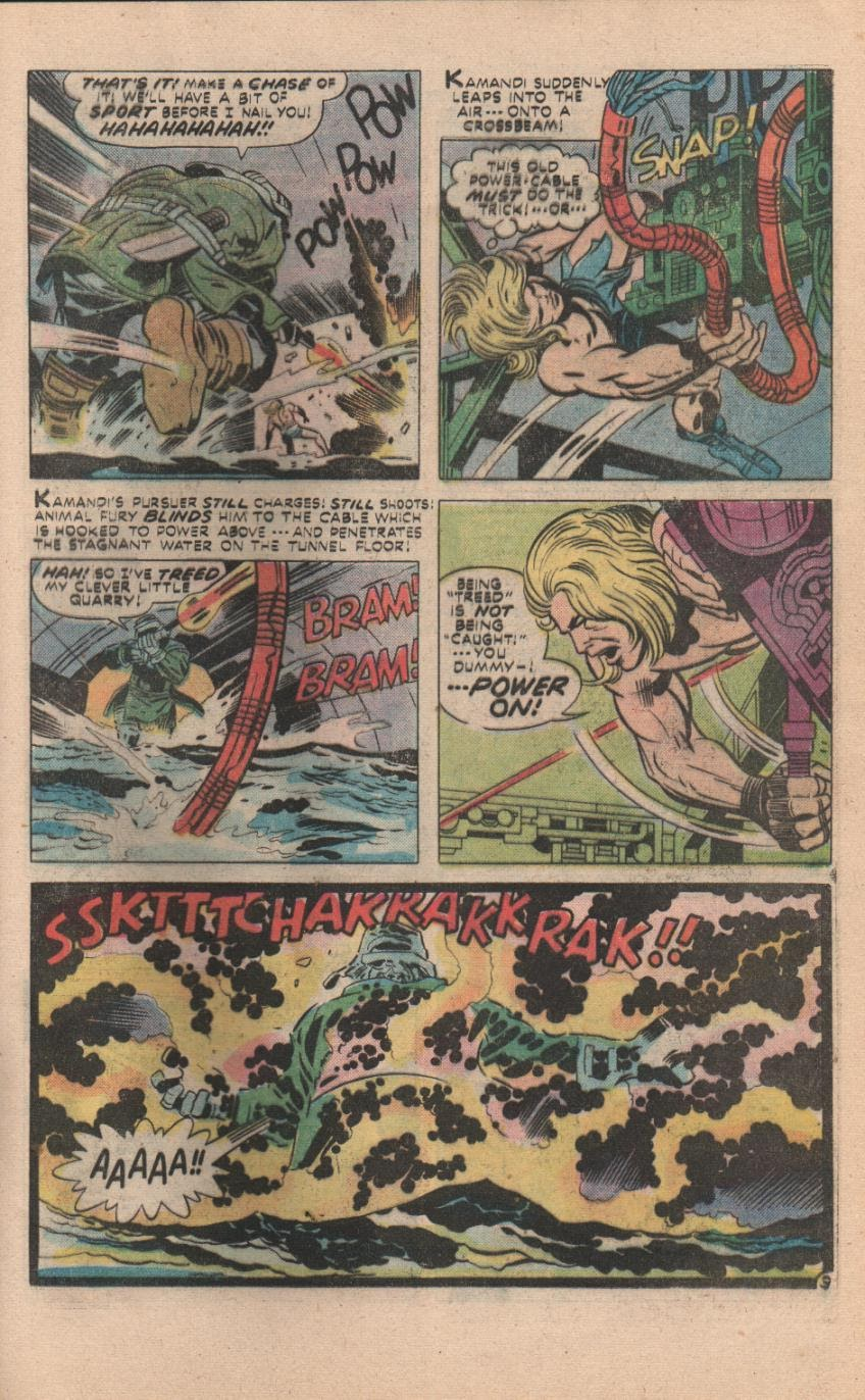 Kamandi, The Last Boy On Earth issue 32 - Page 40