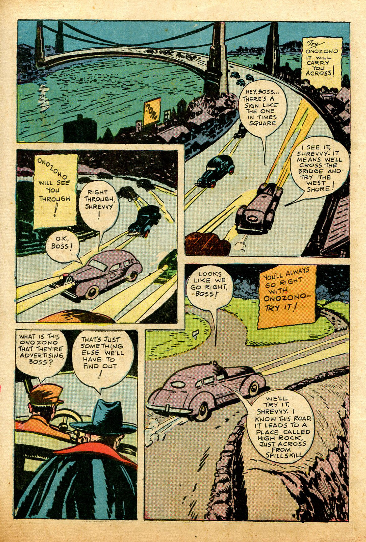 Read online Shadow Comics comic -  Issue #74 - 10