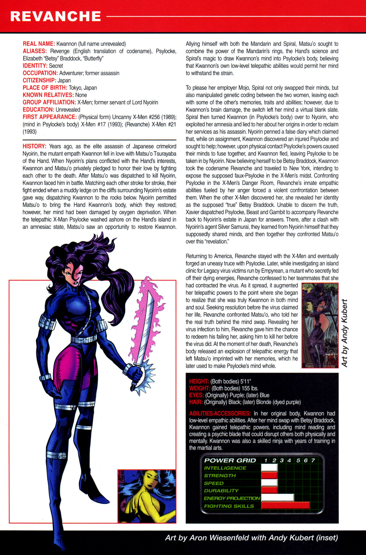 Read online All-New Official Handbook of the Marvel Universe A to Z: Update comic -  Issue #4 - 38