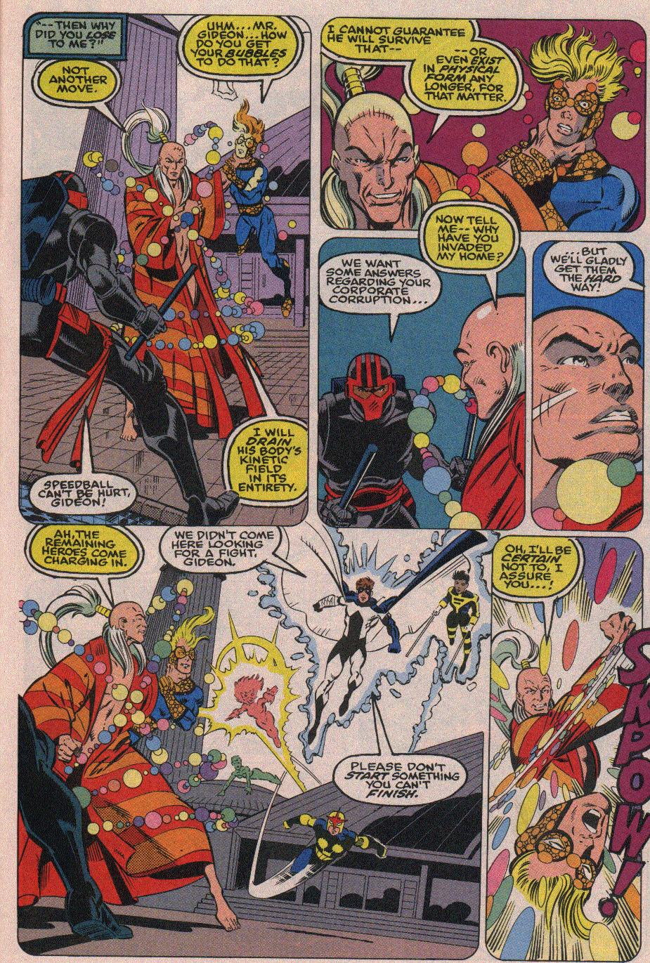 The New Warriors Issue #19 #23 - English 17