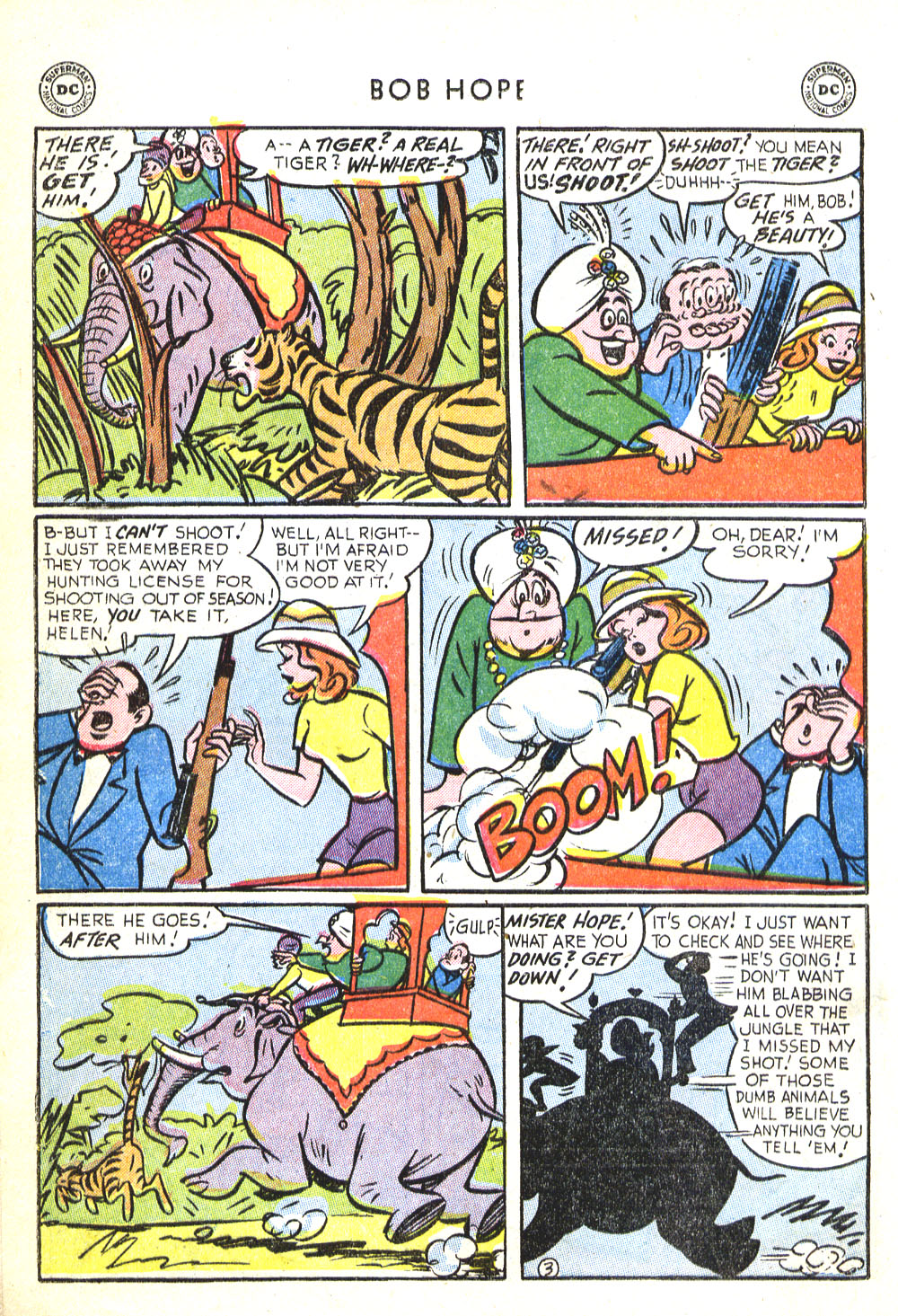 The Adventures of Bob Hope issue 30 - Page 16