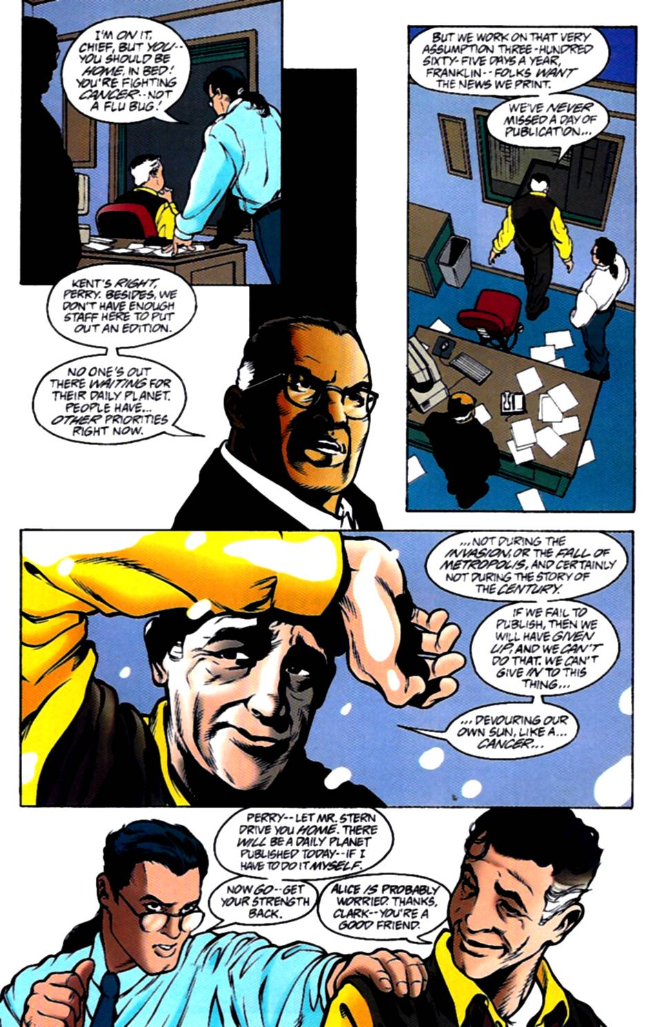 Read online Adventures of Superman (1987) comic -  Issue #540 - 8