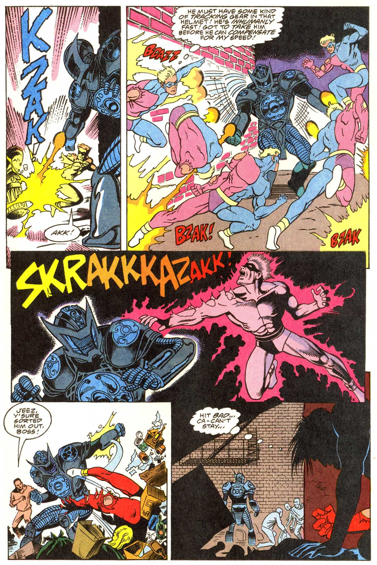 Read online Peter Cannon--Thunderbolt (1992) comic -  Issue #1 - 5