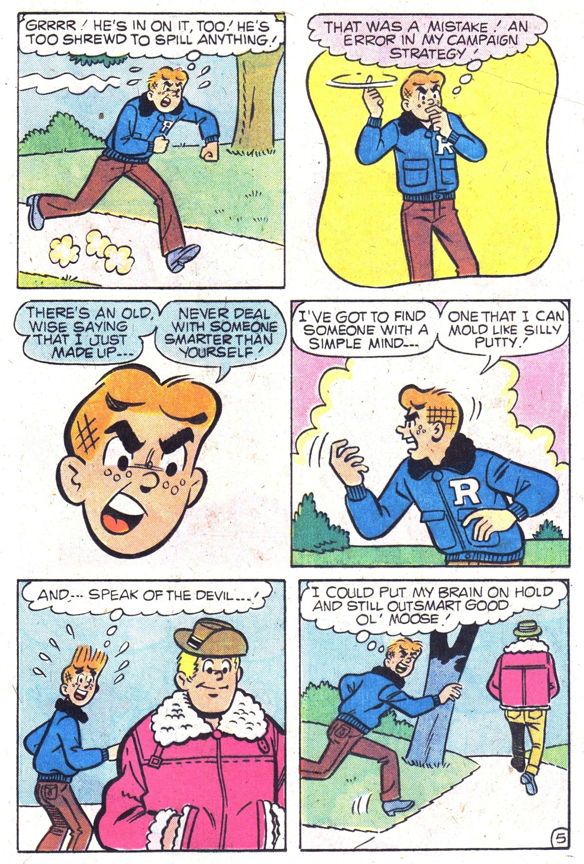 Read online Archie (1960) comic -  Issue #300 - 17