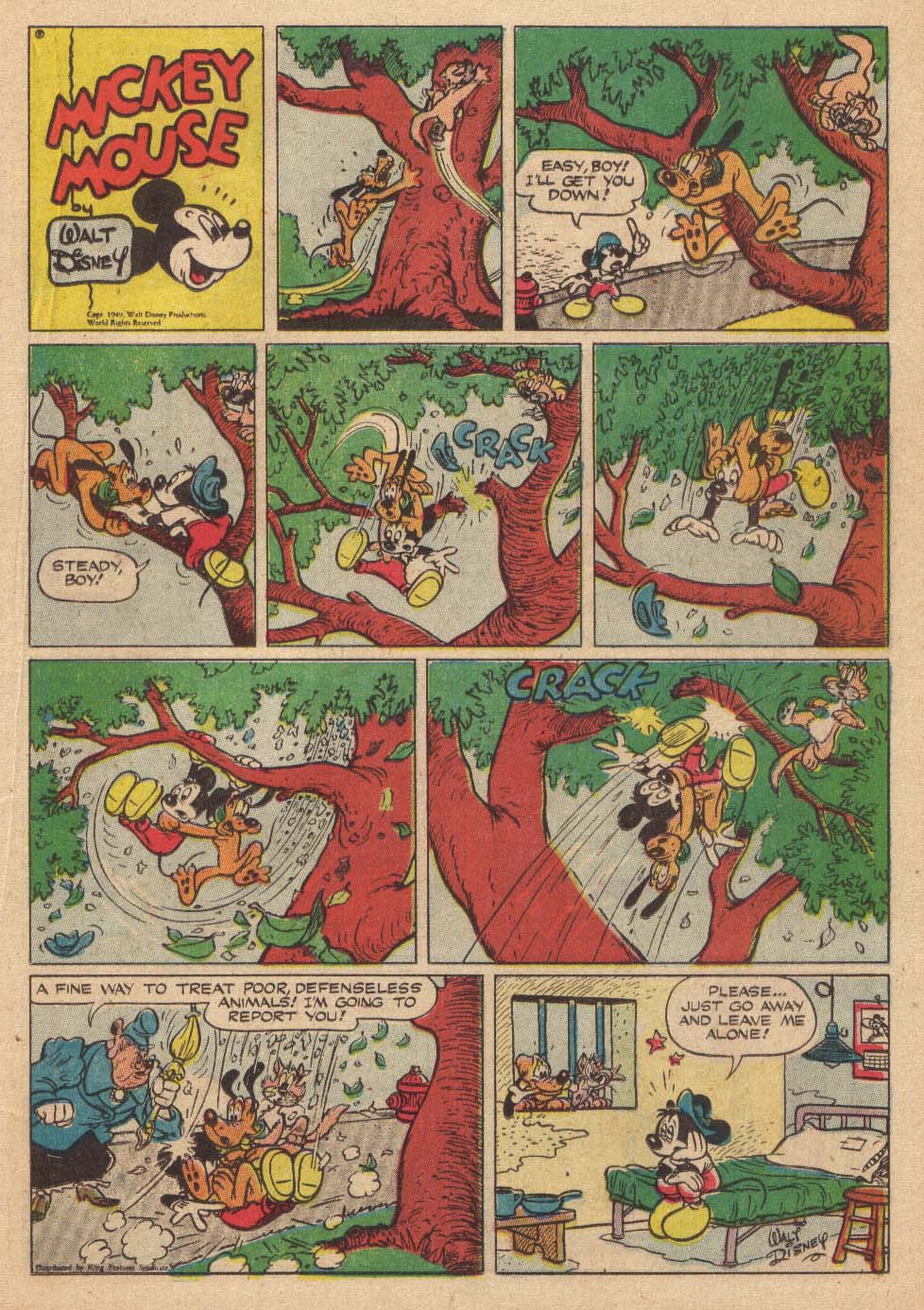 Walt Disney's Comics and Stories issue 145 - Page 27