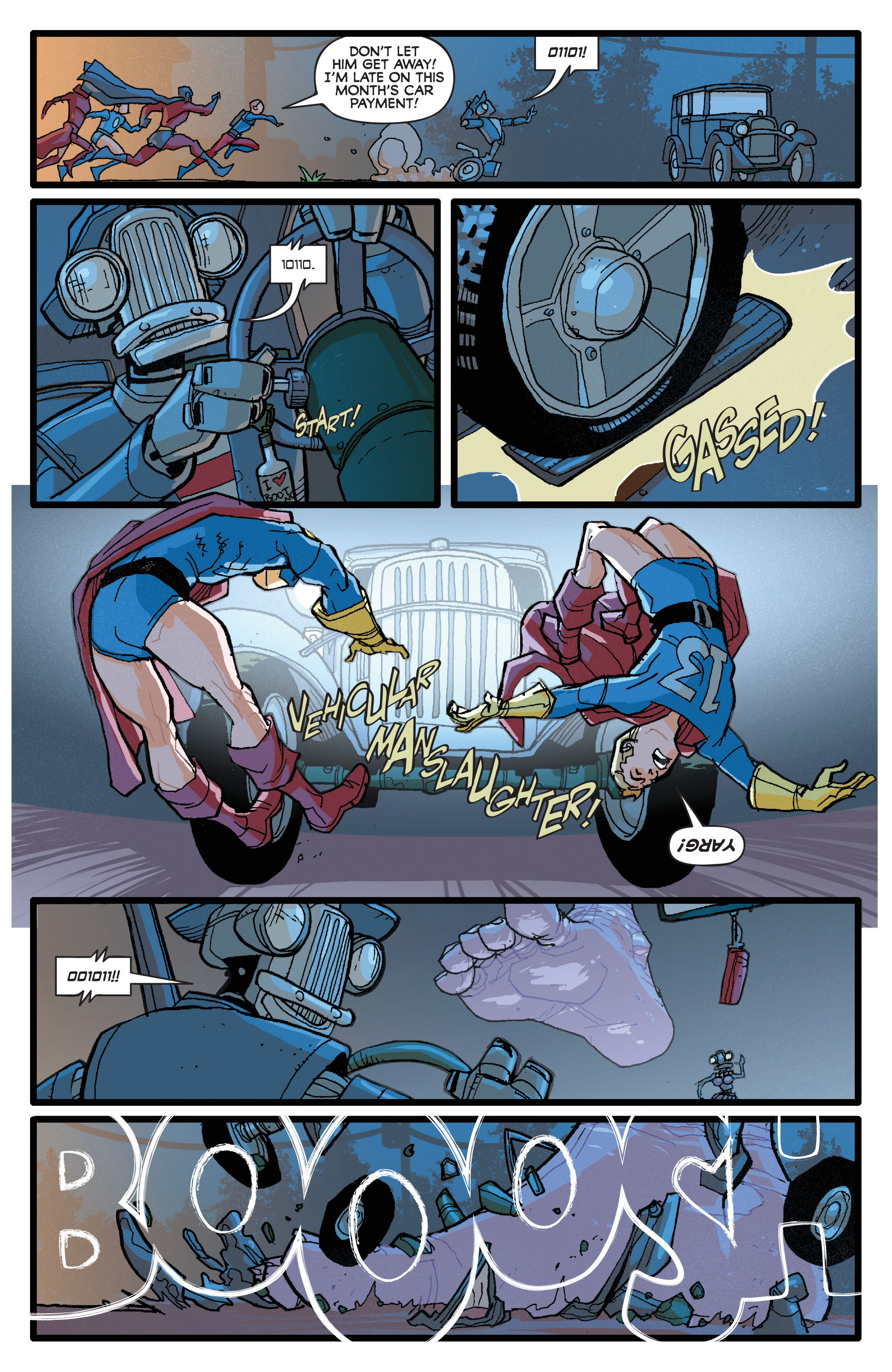 Read online Project Superpowers: Hero Killers comic -  Issue #1 - 10