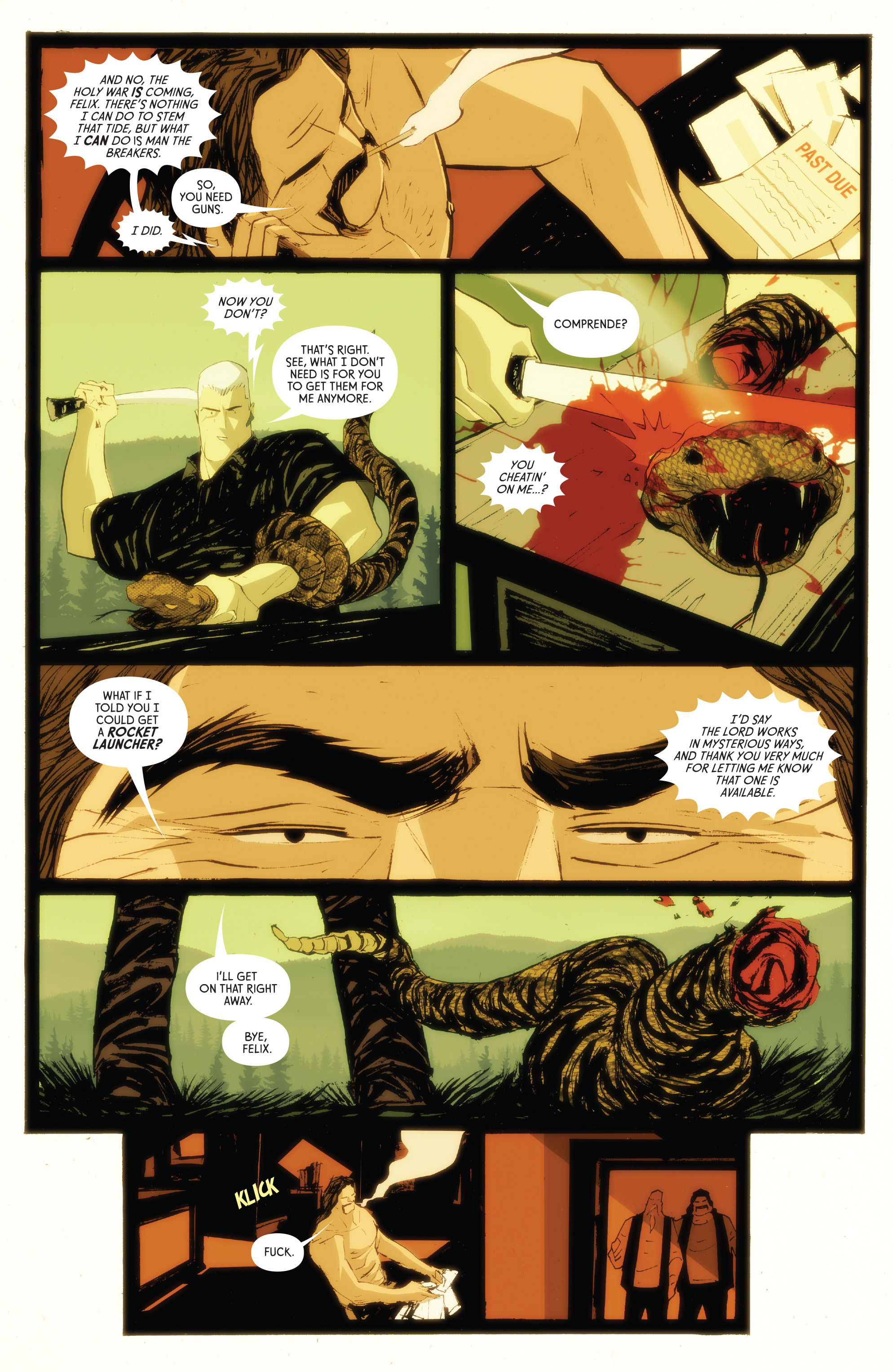 Read online American Monster comic -  Issue #5 - 9