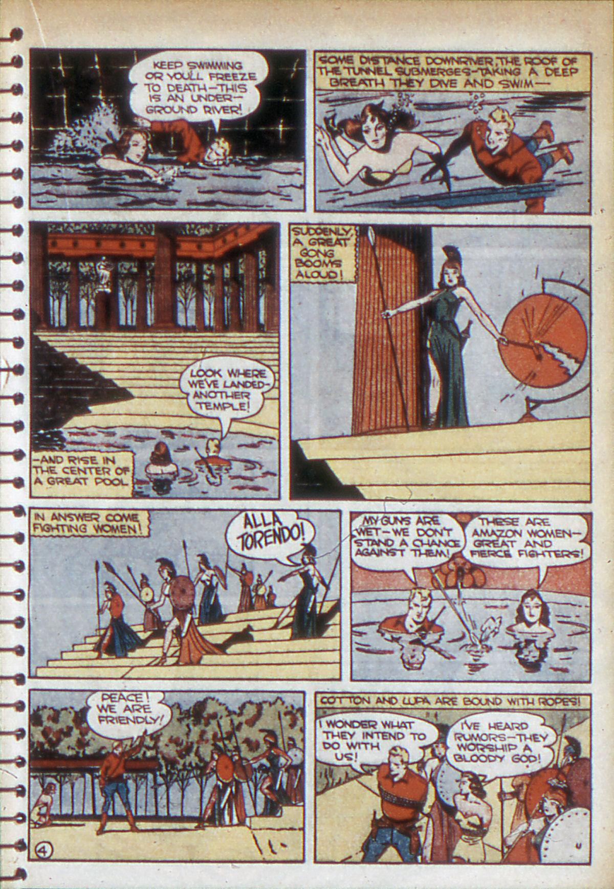 Read online Adventure Comics (1938) comic -  Issue #53 - 38