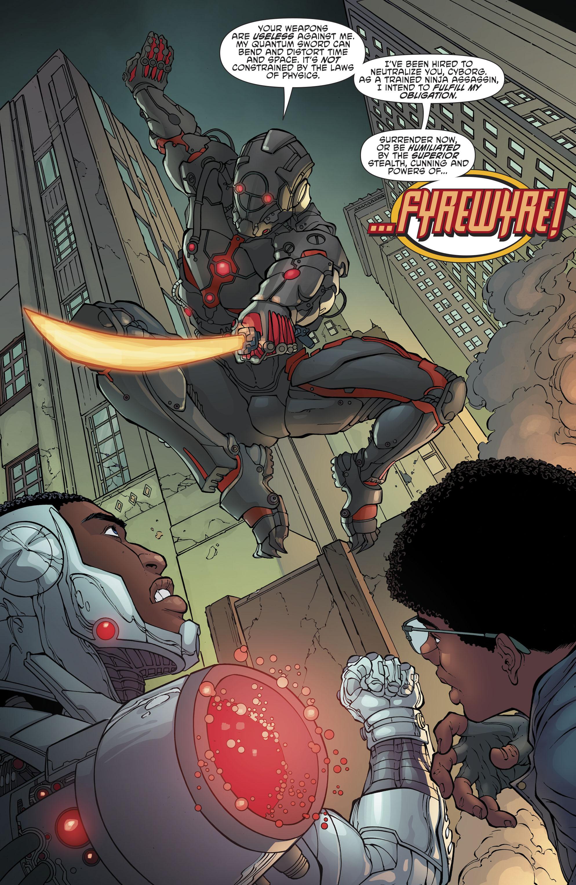 Read online Cyborg (2016) comic -  Issue #13 - 9