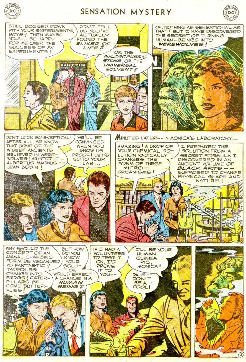 Read online Sensation (Mystery) Comics comic -  Issue #112 - 16