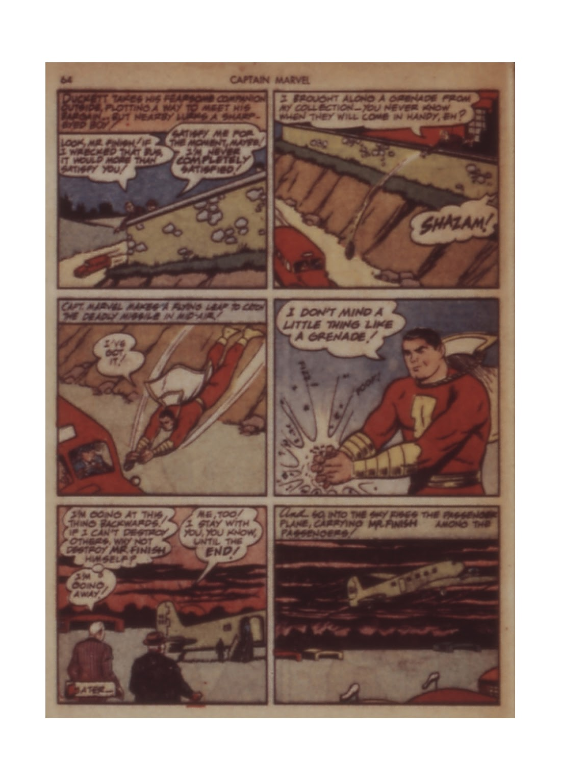 Captain Marvel Adventures issue 11 - Page 64