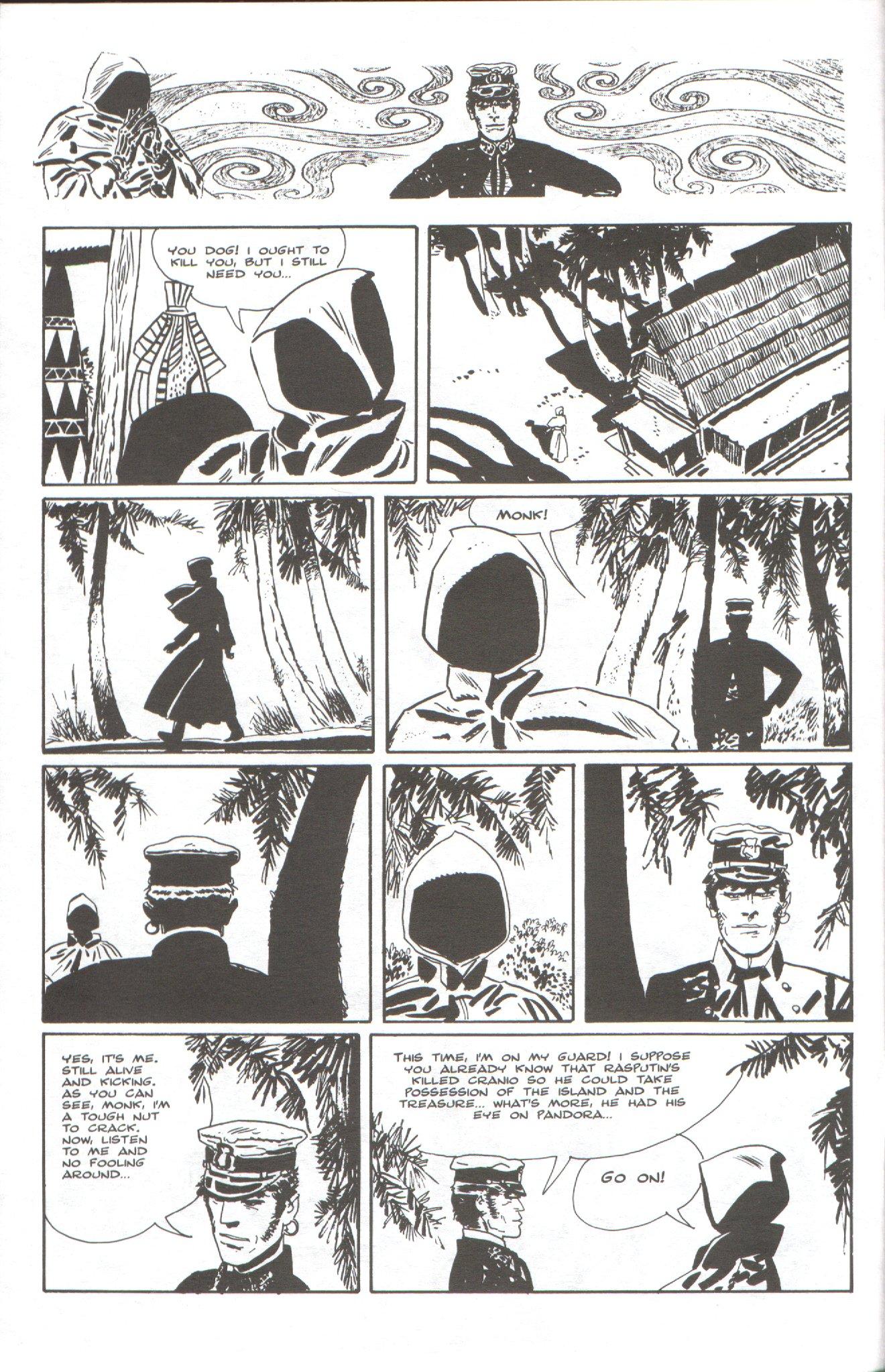 Read online Corto Maltese: Ballad of the Salt Sea comic -  Issue #6 - 6