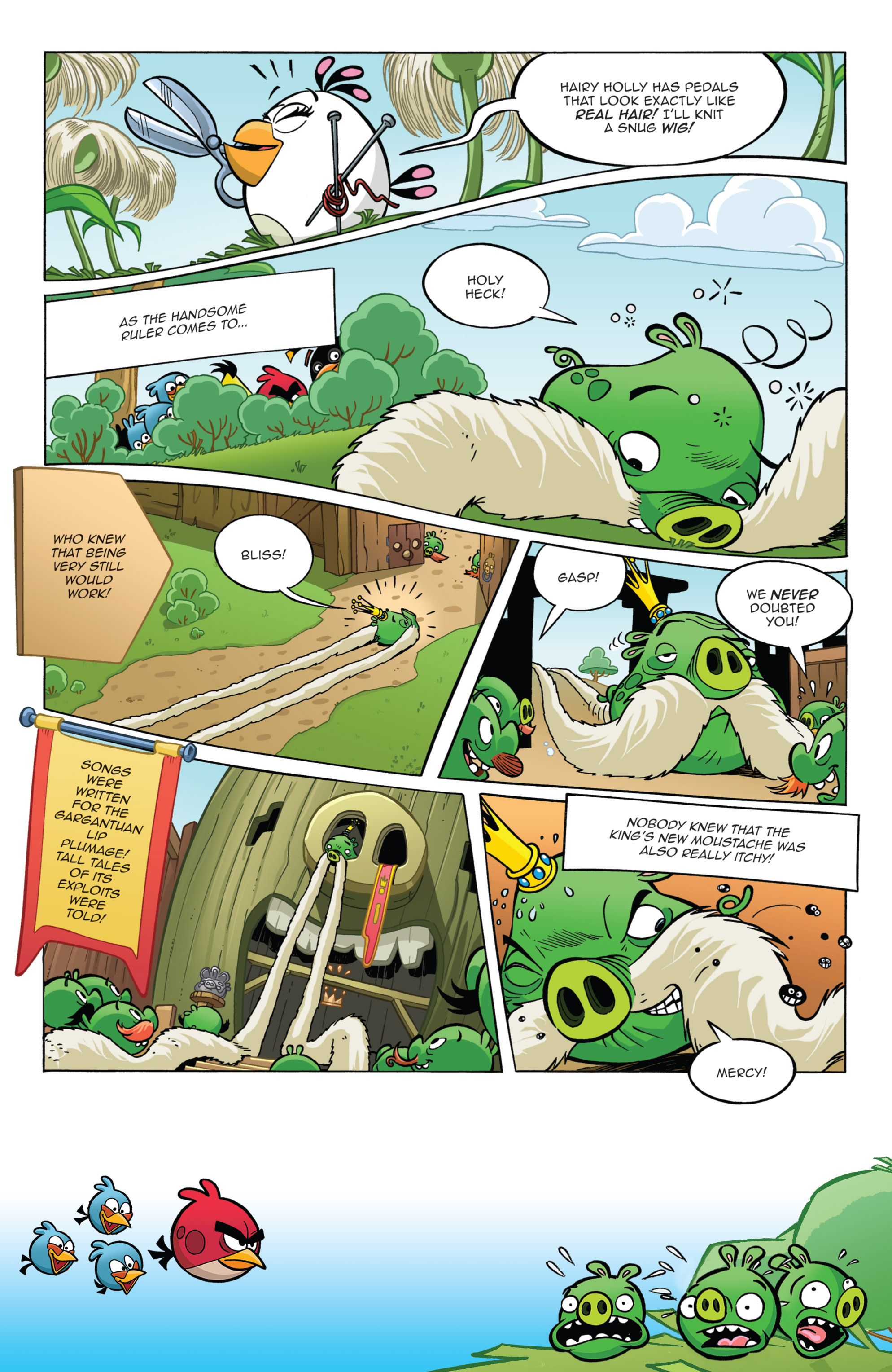 Read online Angry Birds Comics (2014) comic -  Issue #11 - 13