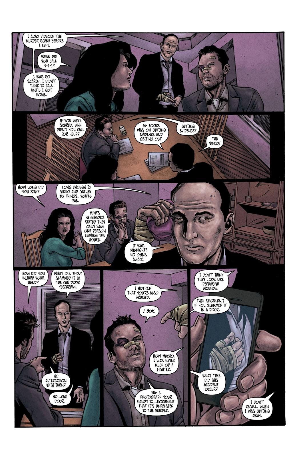 Read online Vindication comic -  Issue #3 - 19