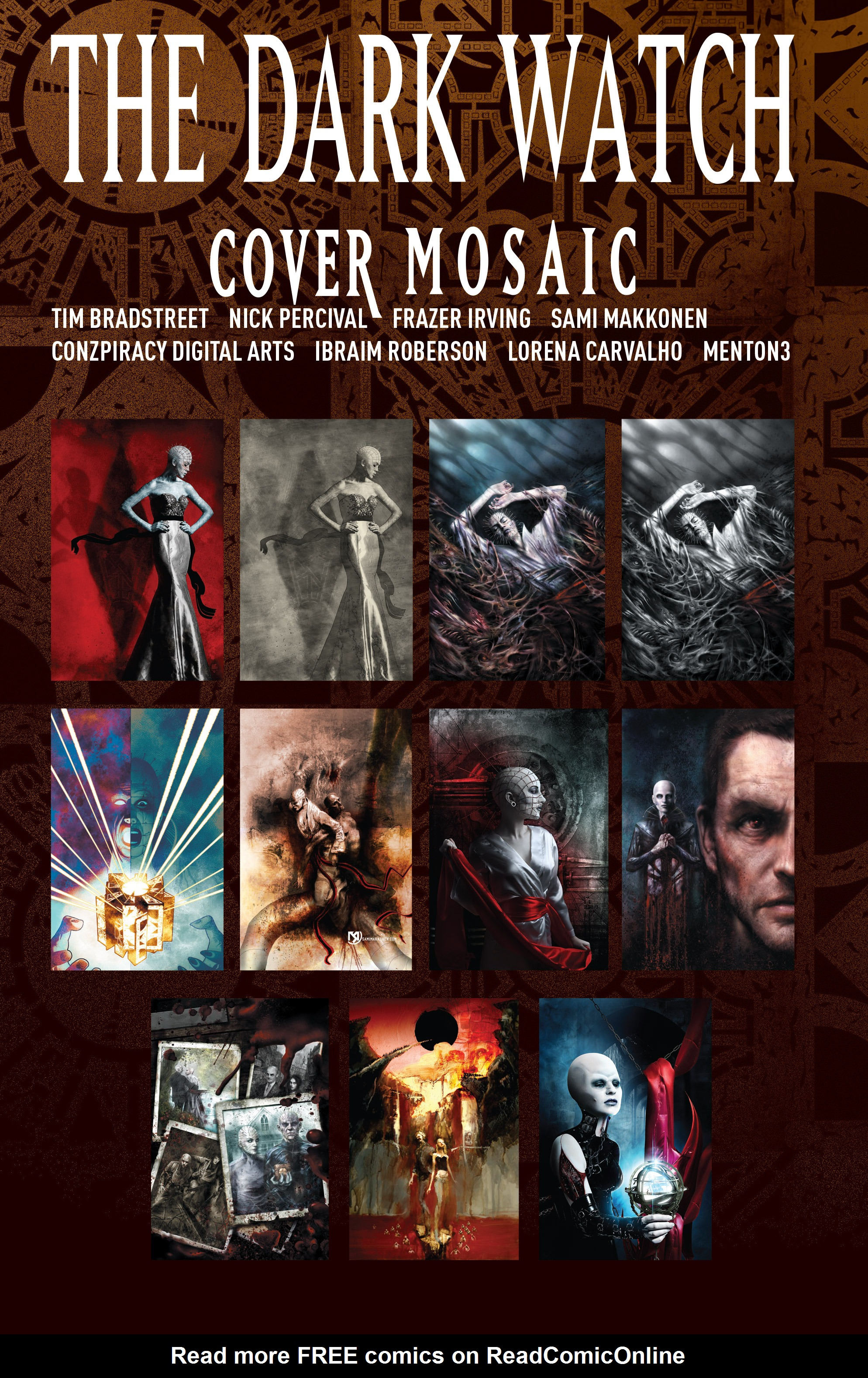 Read online Clive Barker's Hellraiser: The Dark Watch comic -  Issue # TPB 3 - 136