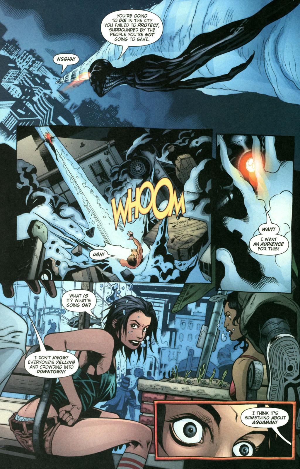 Read online Aquaman (2003) comic -  Issue #22 - 19
