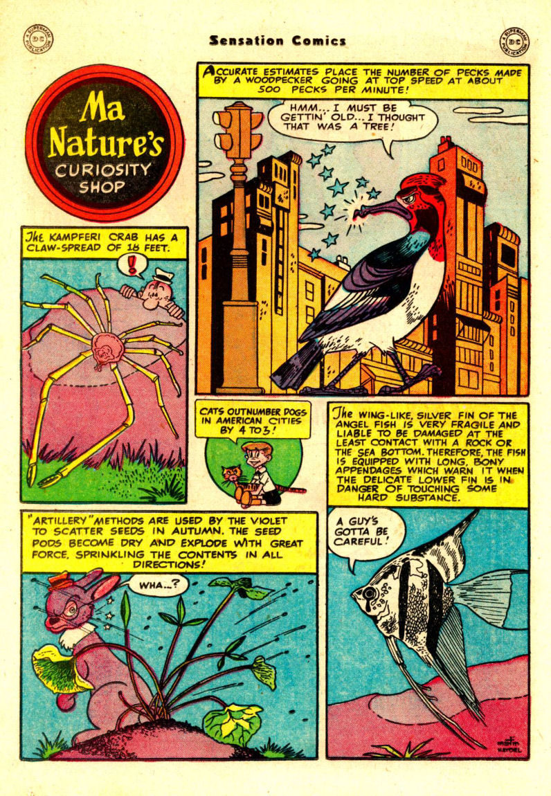 Read online Sensation (Mystery) Comics comic -  Issue #88 - 35