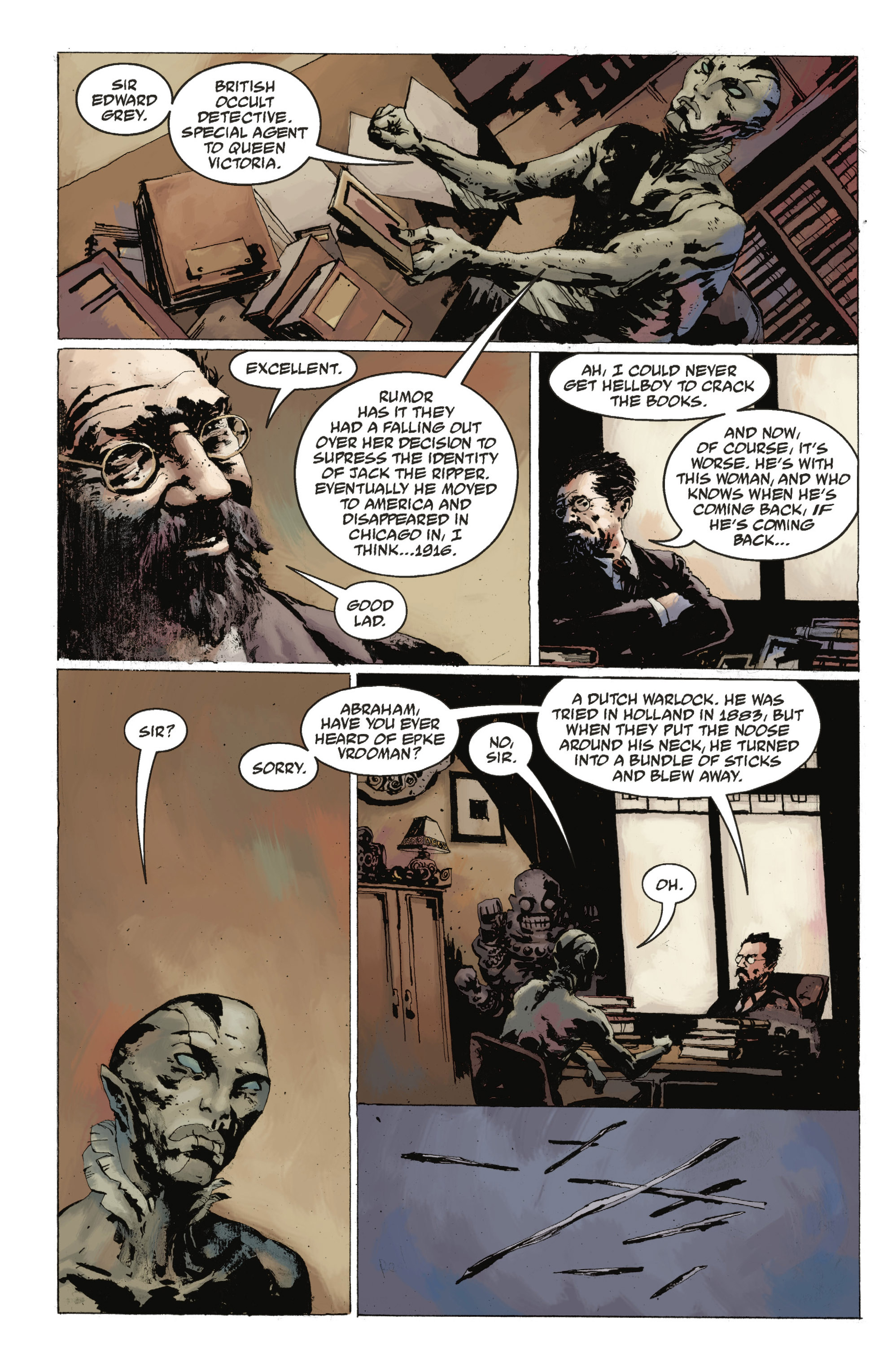 Read online Abe Sapien: The Drowning comic -  Issue #Abe Sapien: The Drowning _TPB - 23